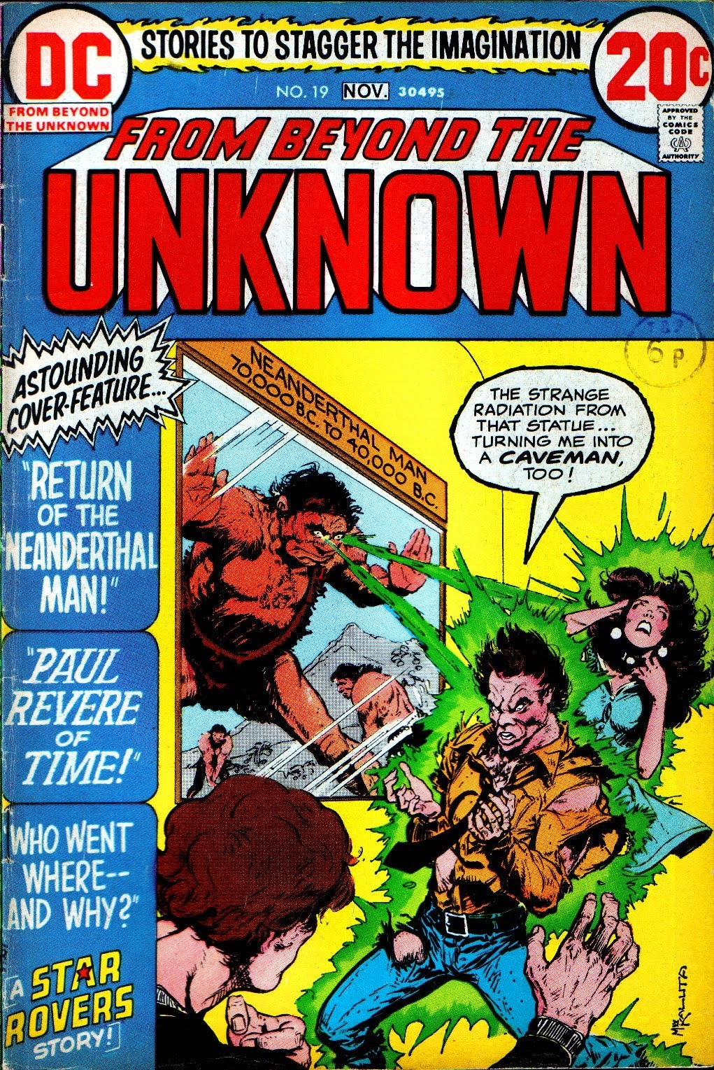 From Beyond the Unknown (1969) issue 19 - Page 1