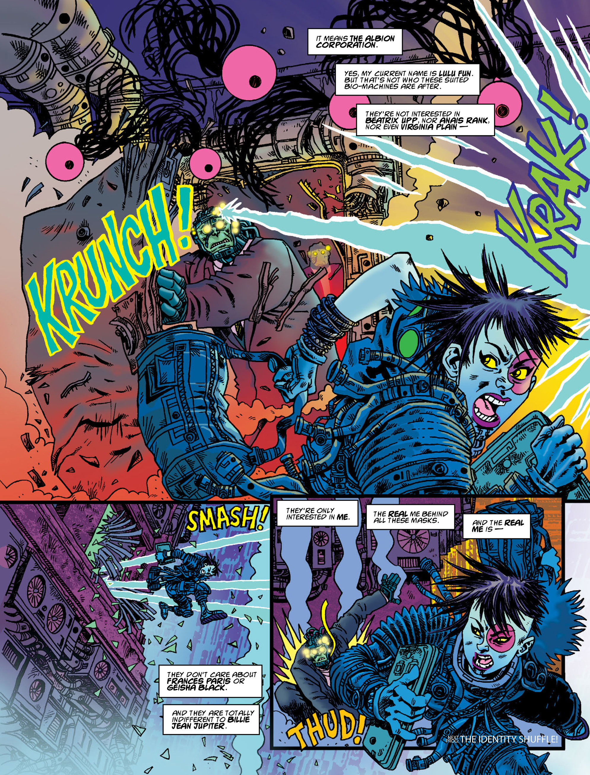 Read online 2000 AD comic -  Issue #2000 - 51
