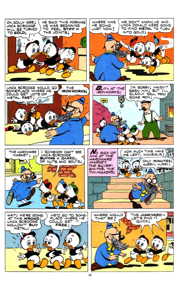 Read online Uncle Scrooge (1953) comic -  Issue #253 - 22