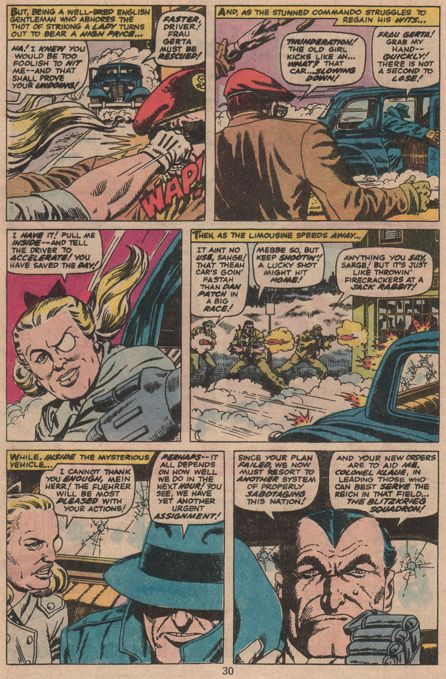 Read online Sgt. Fury comic -  Issue #142 - 32