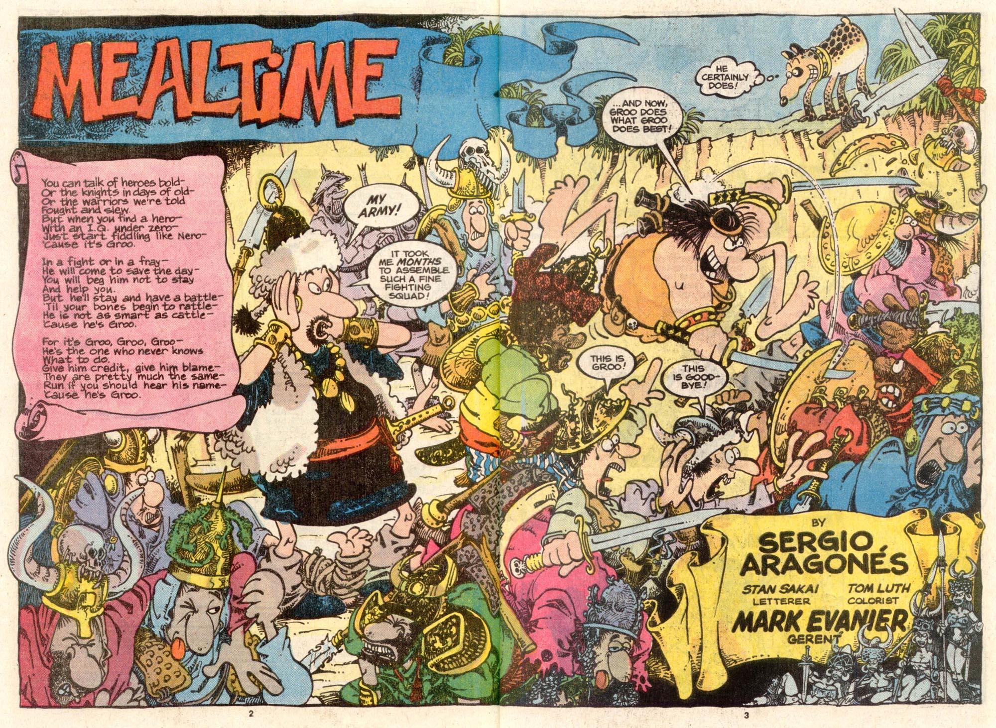 Read online Sergio Aragonés Groo the Wanderer comic -  Issue #38 - 3
