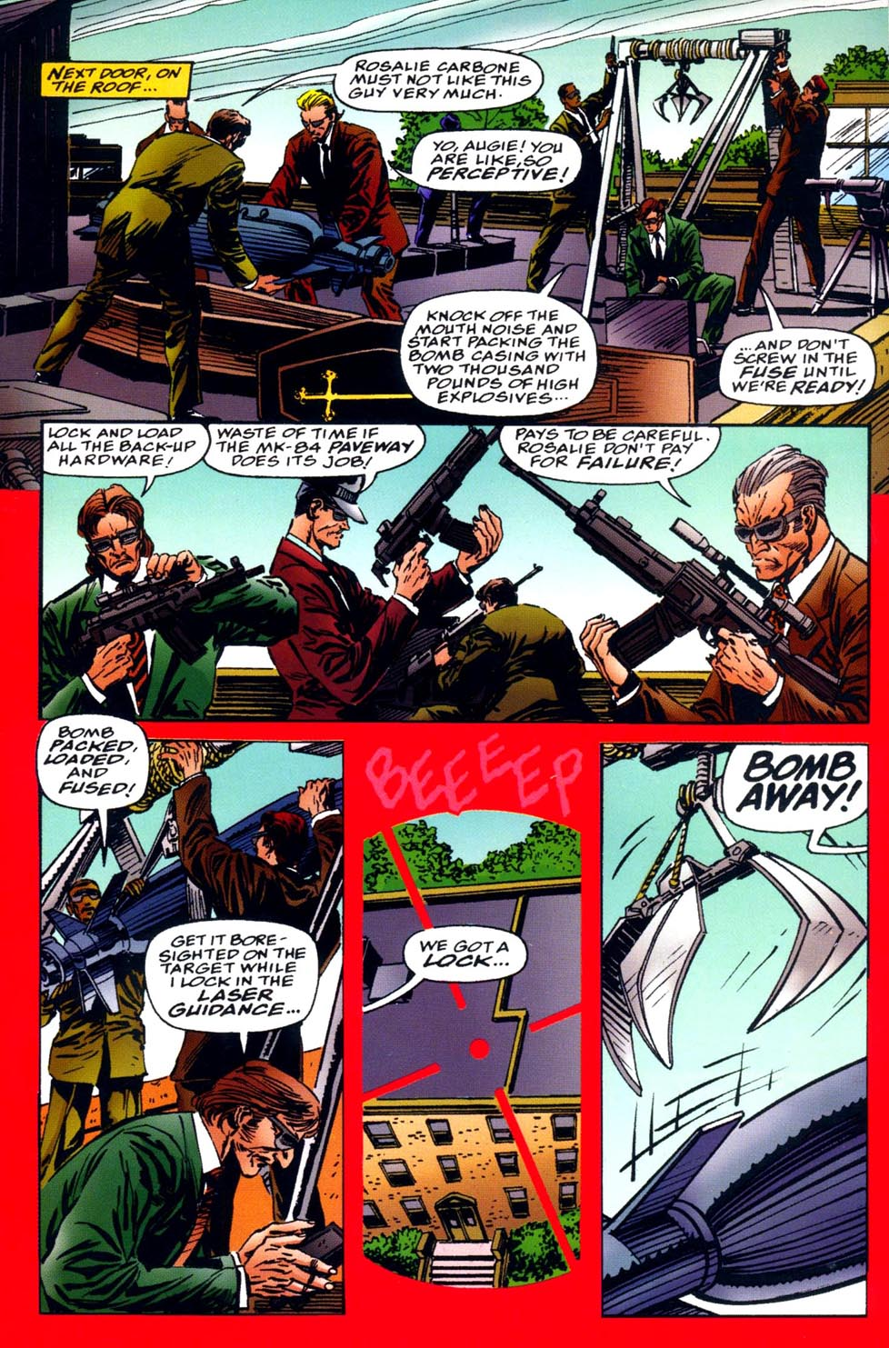 Read online Double Edge comic -  Issue # Issue Alpha - 25