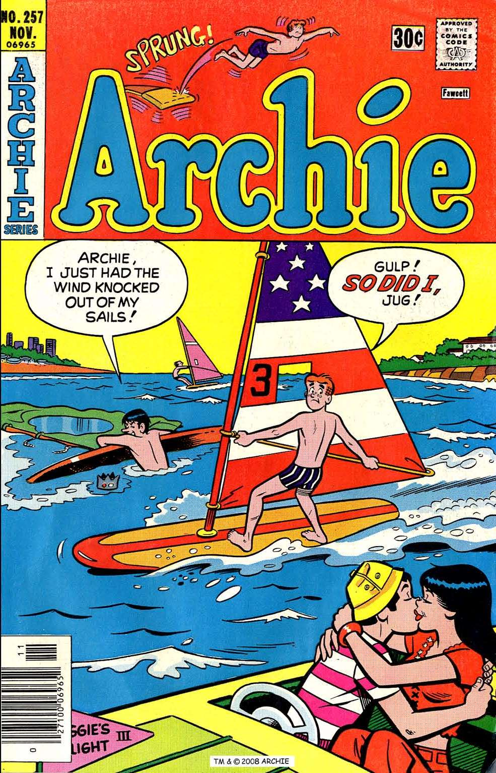 Read online Archie (1960) comic -  Issue #257 - 1