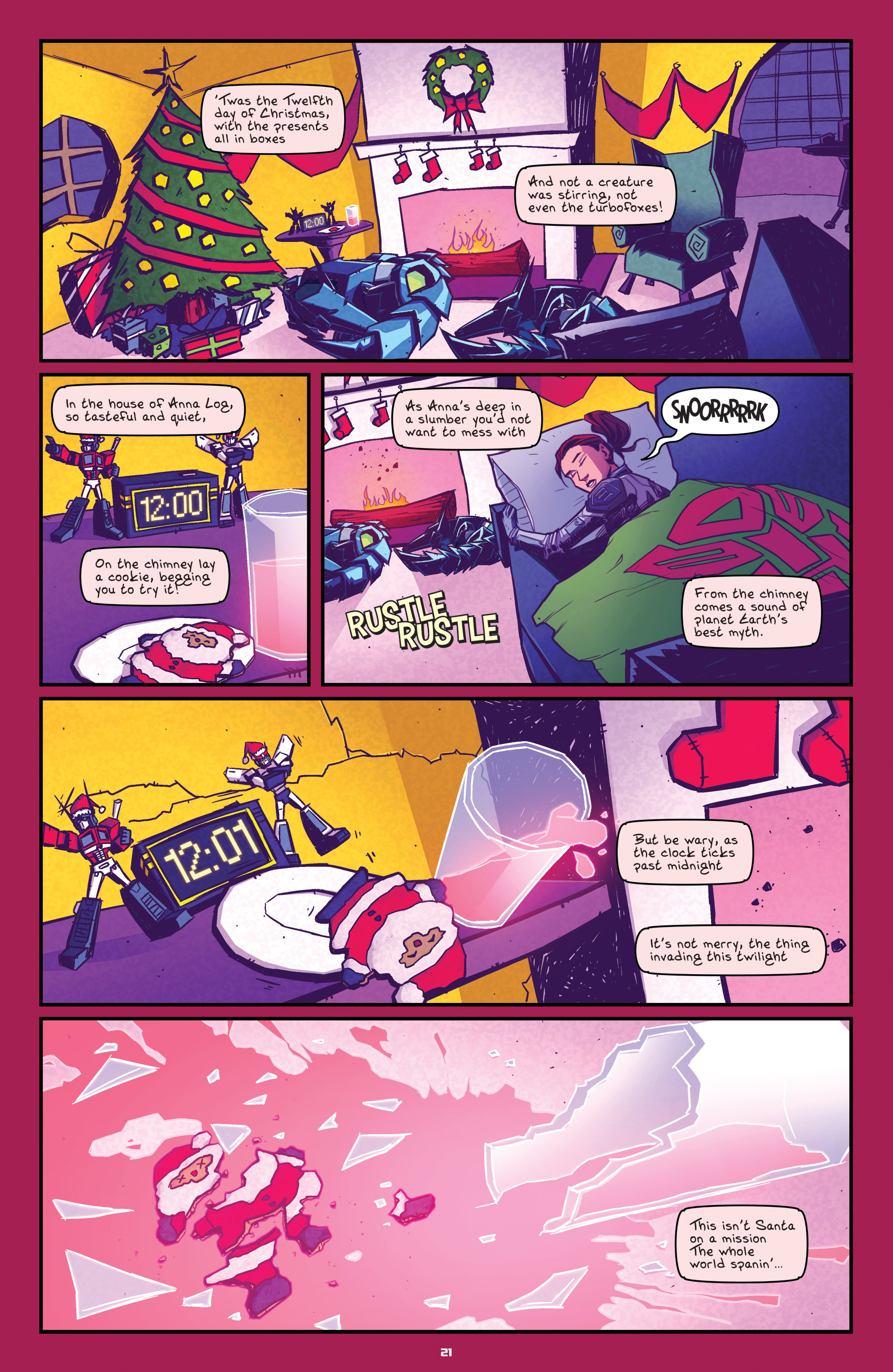 Read online Transformers: Holiday Special comic -  Issue # Full - 23