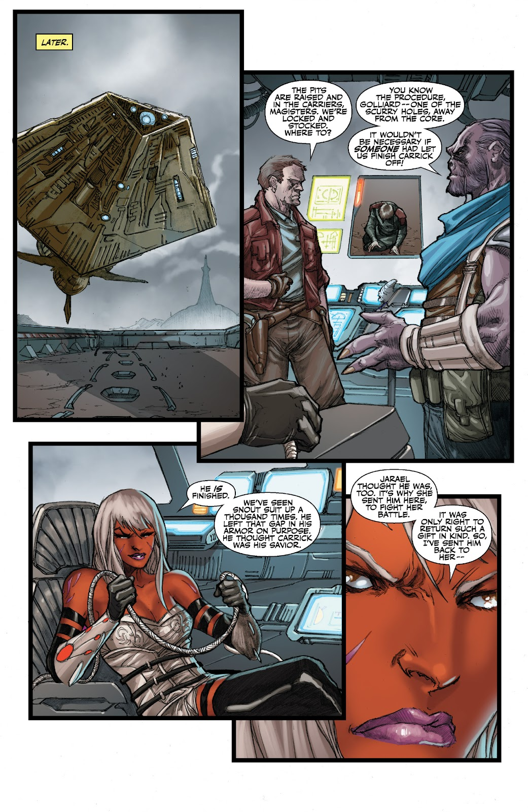 Read online Star Wars Legends: The Old Republic - Epic Collection comic -  Issue # TPB 3 (Part 3) - 7