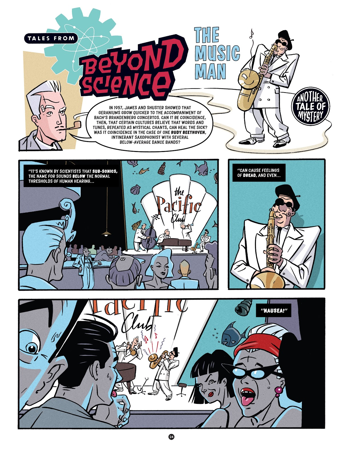 Read online Tales from Beyond Science comic -  Issue # TPB - 25