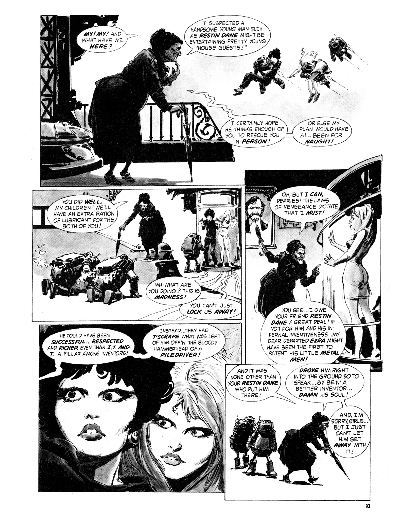Read online Eerie Archives comic -  Issue # TPB 18 - 94