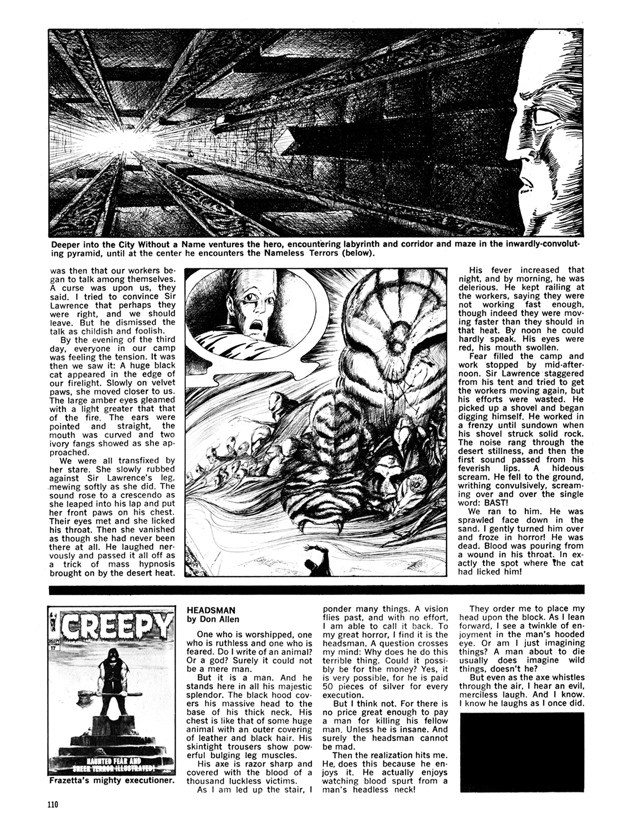 Read online Eerie Archives comic -  Issue # TPB 6 - 110