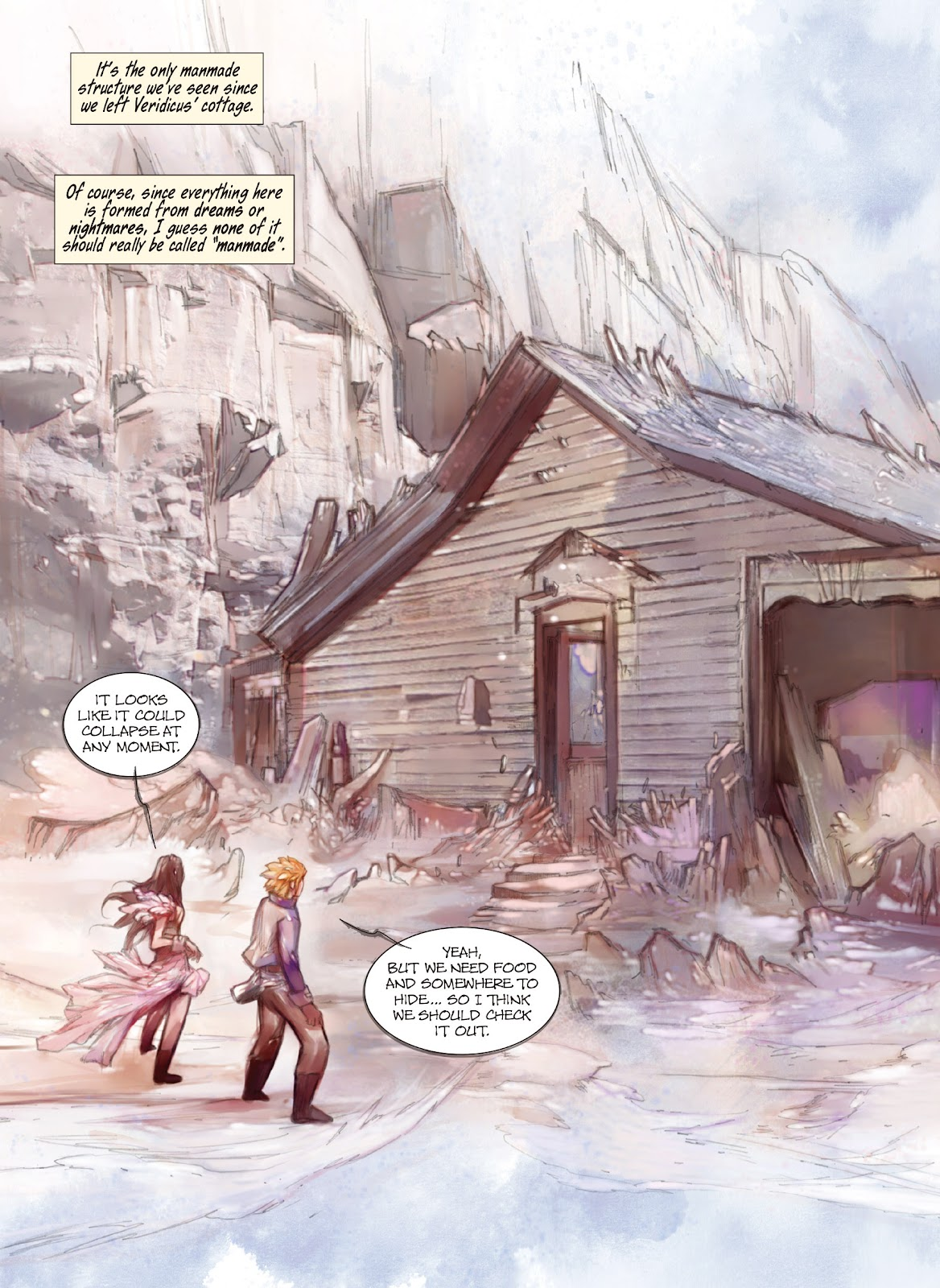 Read online Makeshift Miracle: The Girl From Nowhere comic -  Issue #11 - 3