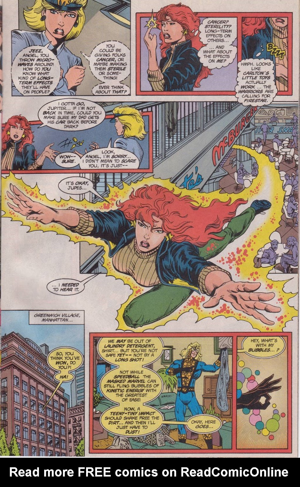 The New Warriors Issue #61 #65 - English 12