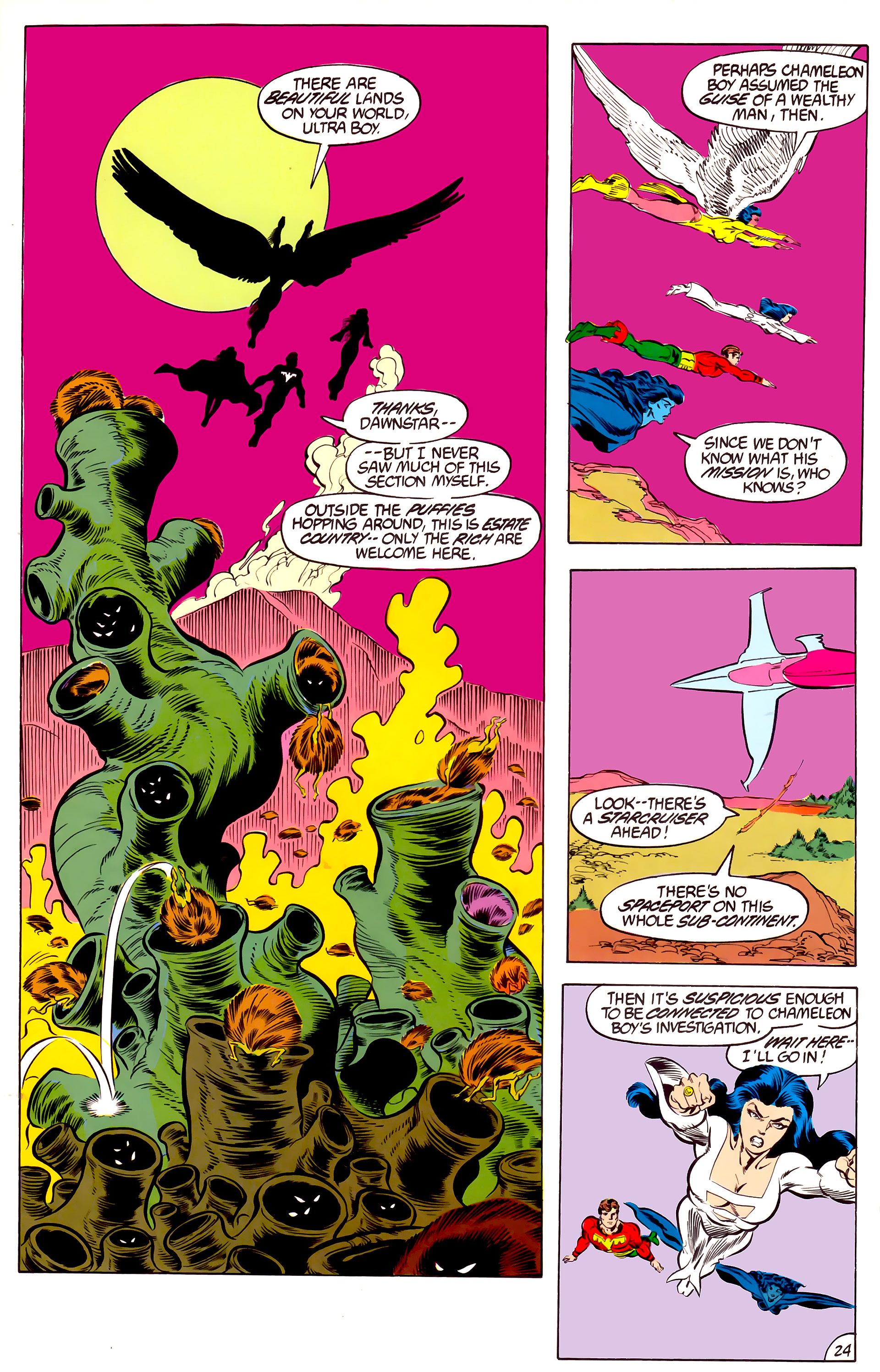 Legion of Super-Heroes (1984) 46 Page 24