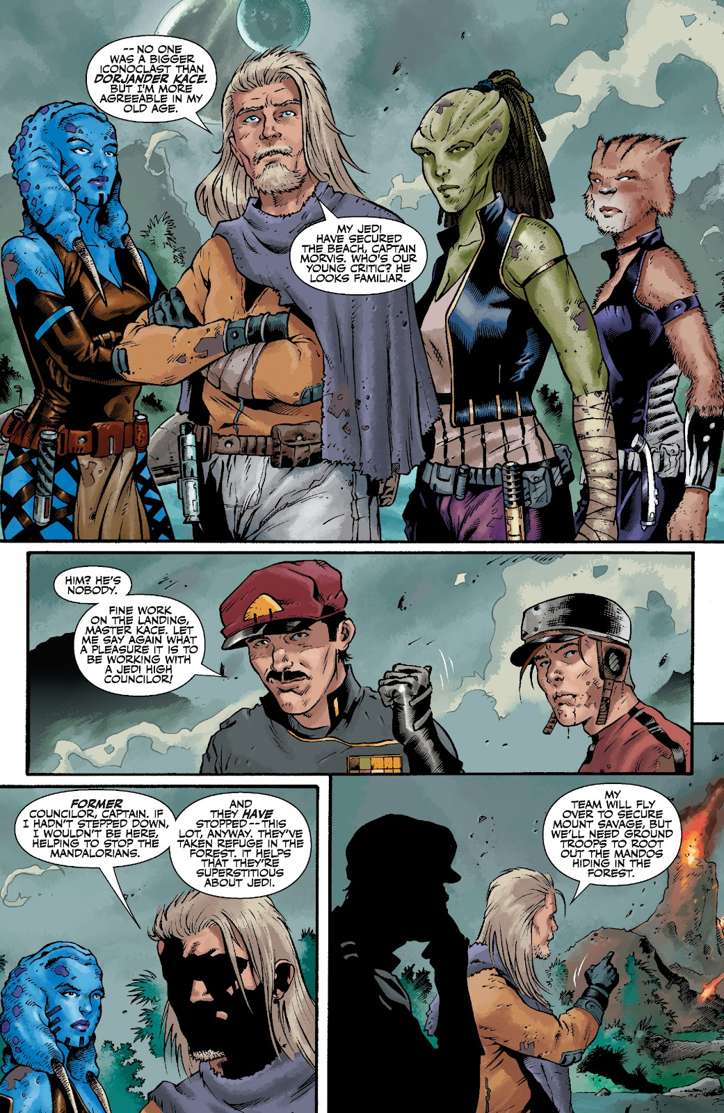 Read online Star Wars Legends: The Old Republic - Epic Collection comic -  Issue # TPB 3 (Part 4) - 14