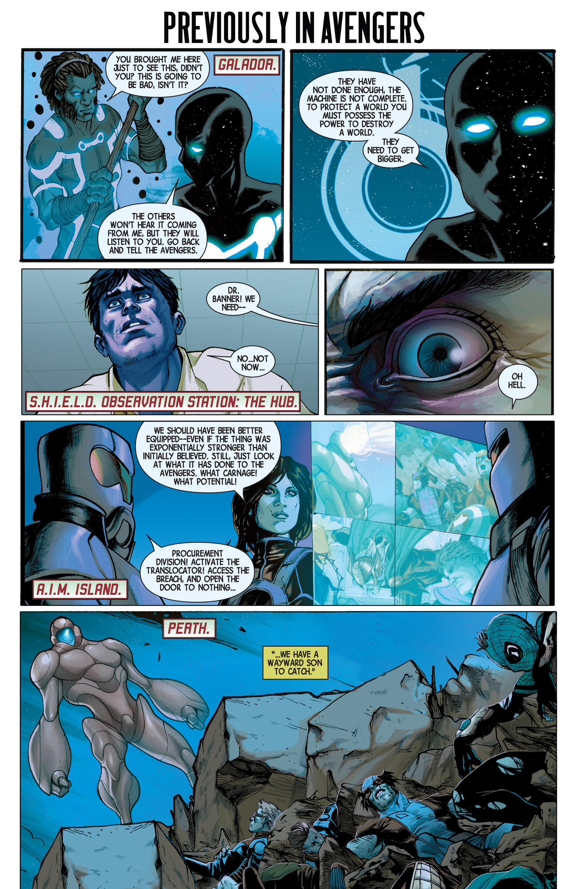 Read online Avengers (2013) comic -  Issue #Avengers (2013) _TPB 3 - 127