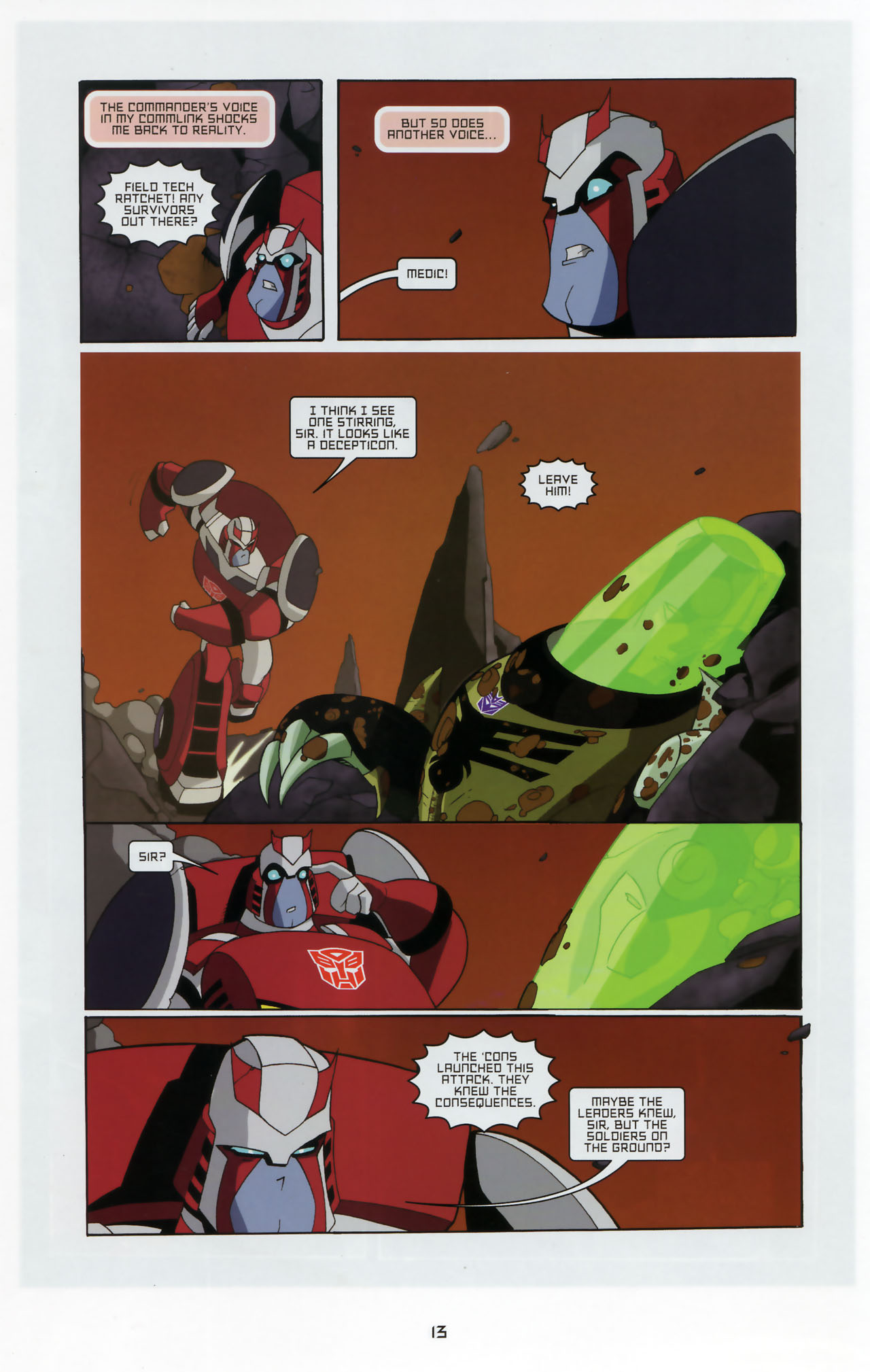 Read online Transformers Animated: The Arrival comic -  Issue #3 - 15
