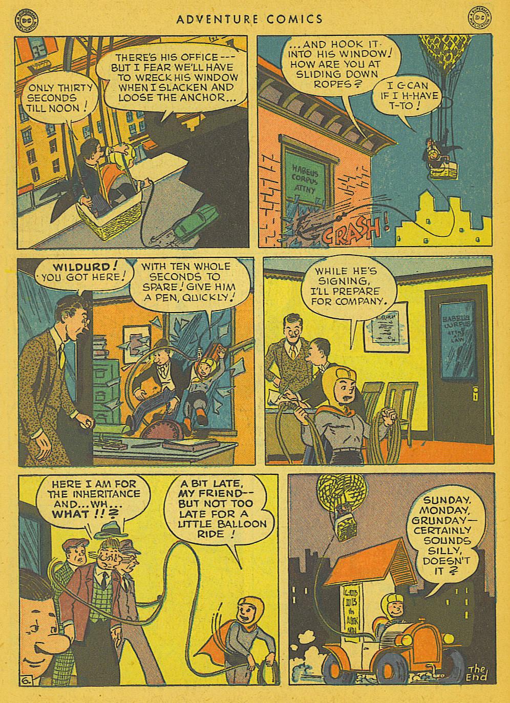 Read online Adventure Comics (1938) comic -  Issue #102 - 32