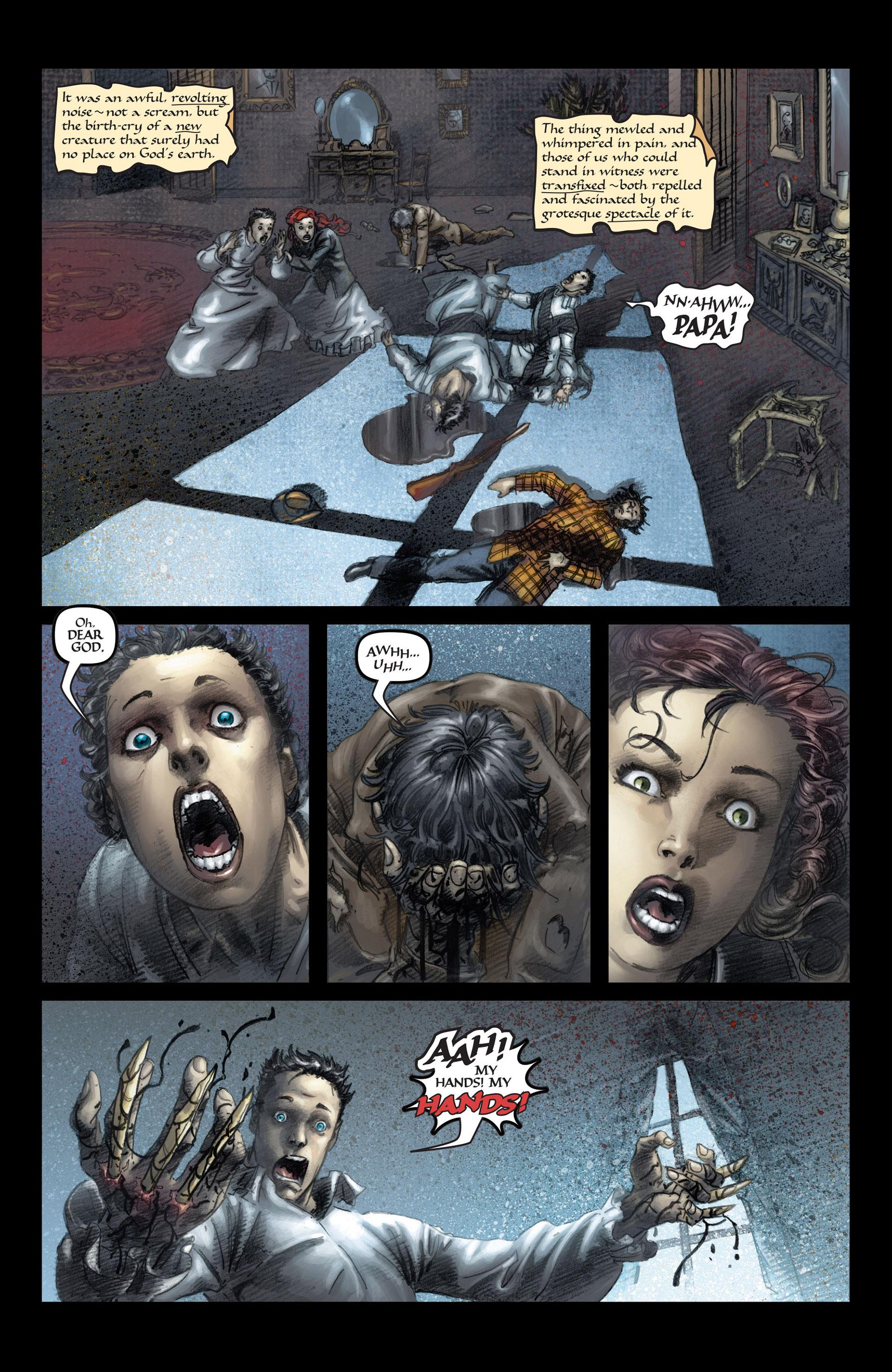 Read online Wolverine: The Origin comic -  Issue #3 - 3