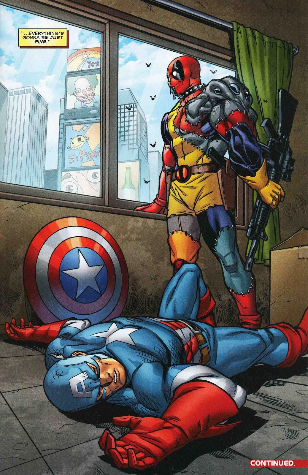 Read online Deadpool (2008) comic -  Issue #47 - 22