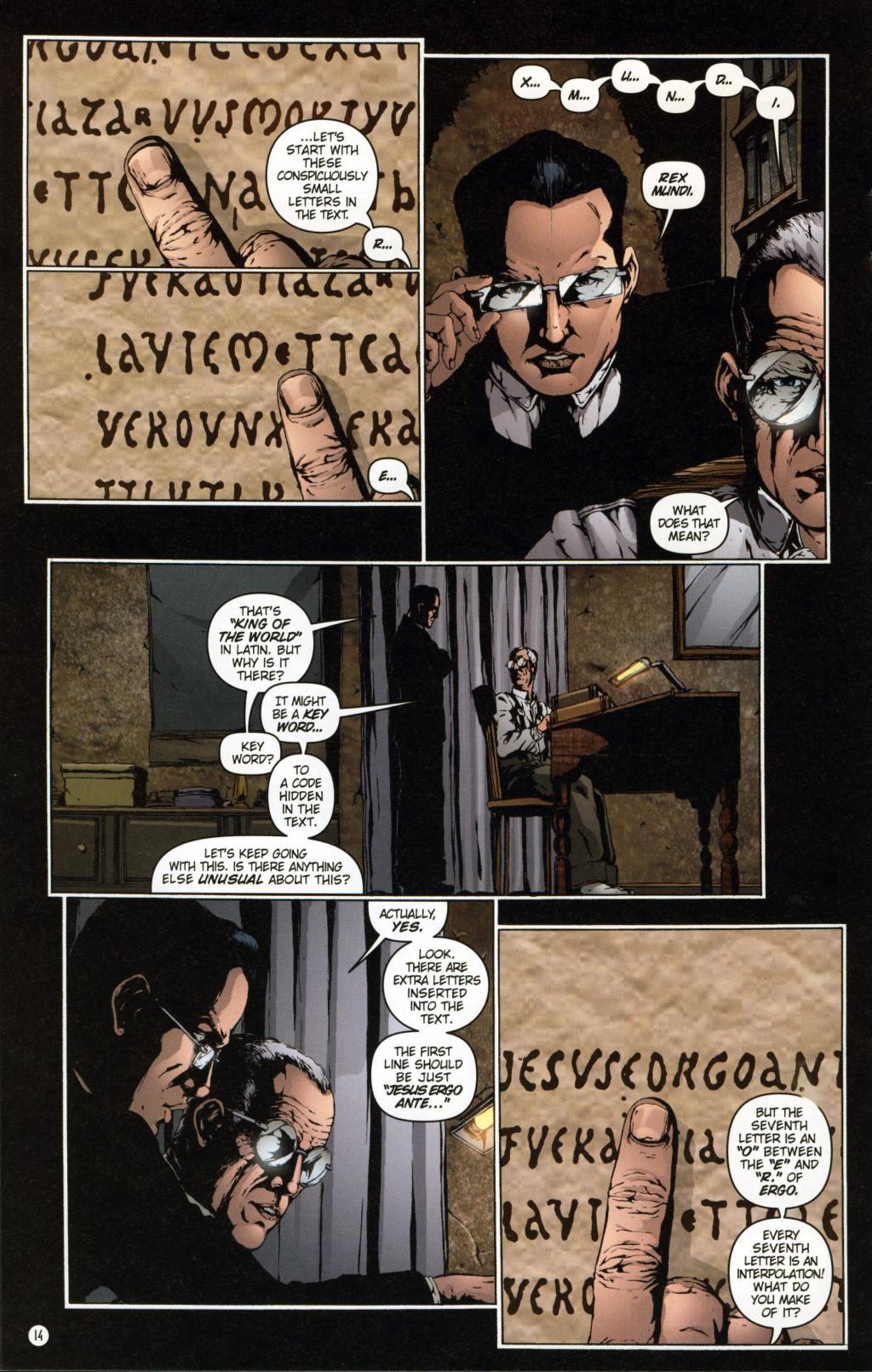 Read online Rex Mundi comic -  Issue #7 - 18