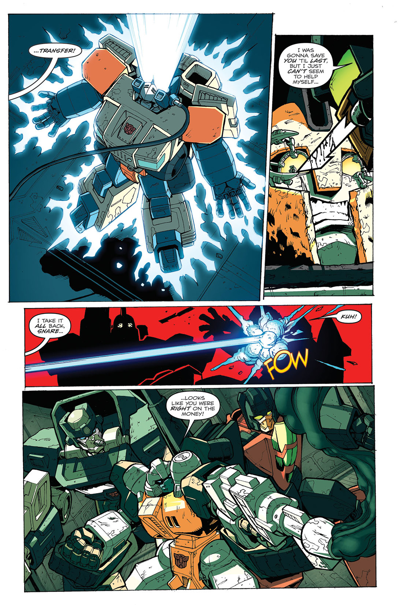 Read online Transformers: Last Stand of The Wreckers comic -  Issue #4 - 21