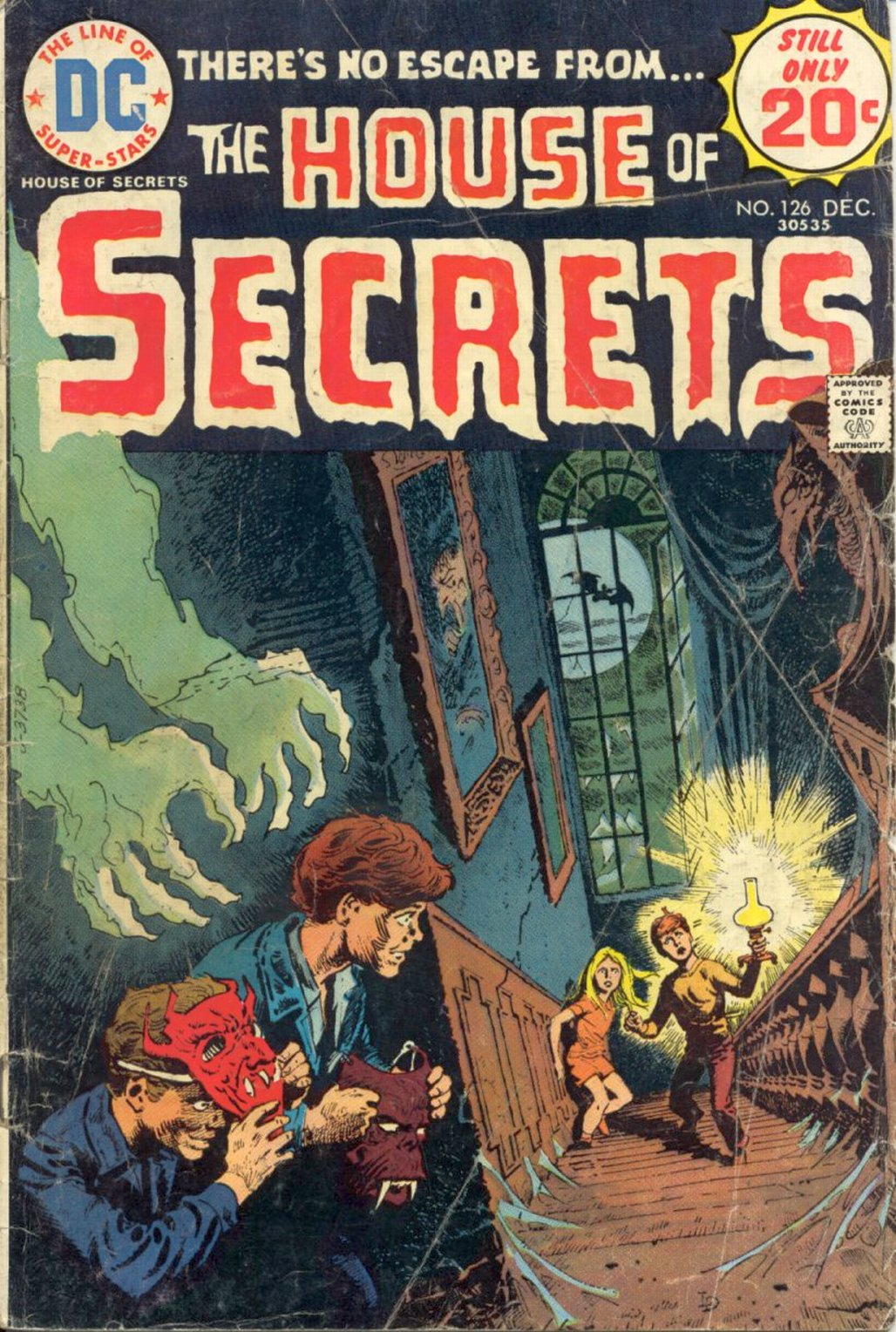 House of Secrets (1956) issue 126 - Page 1