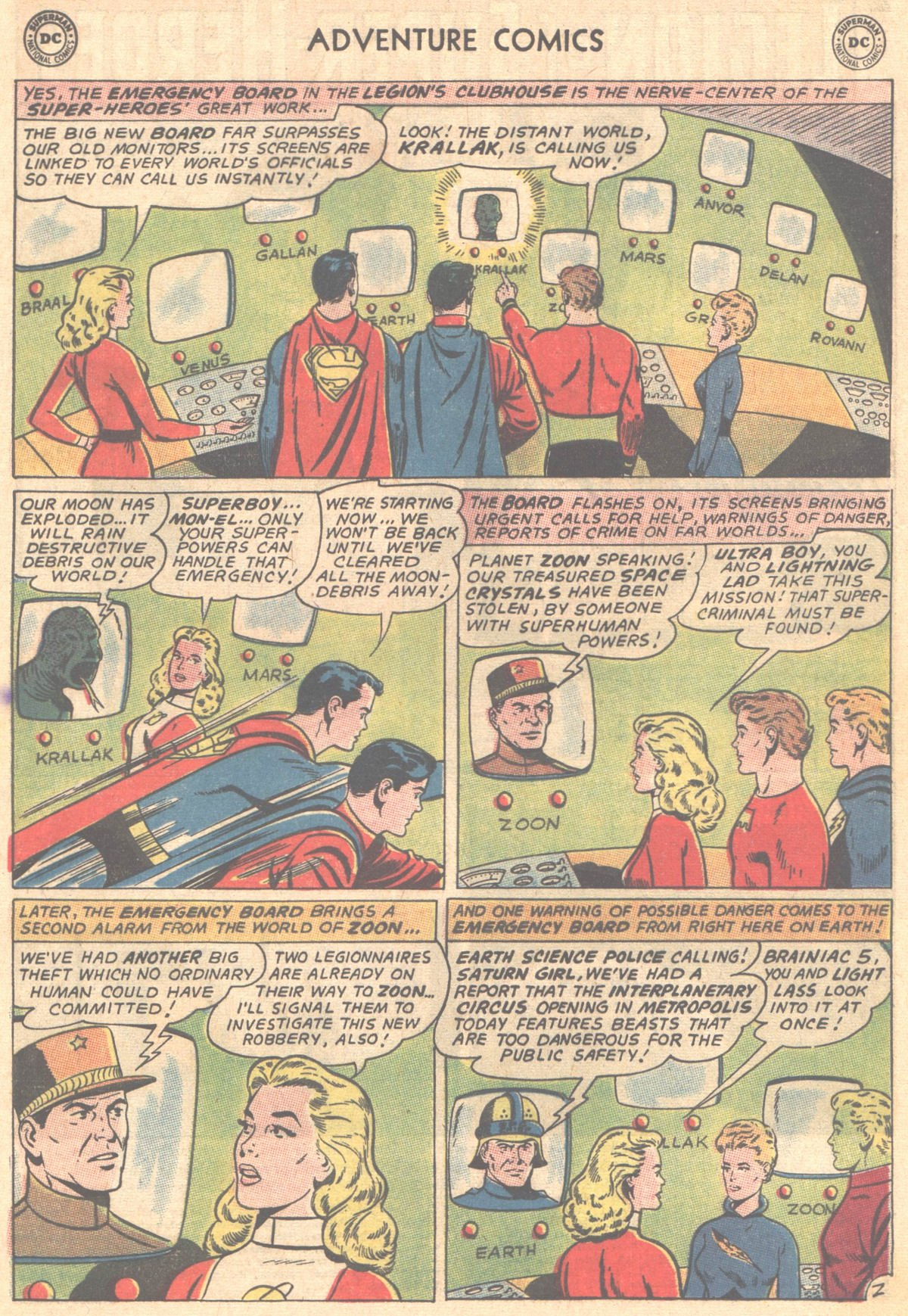 Read online Adventure Comics (1938) comic -  Issue #327 - 3