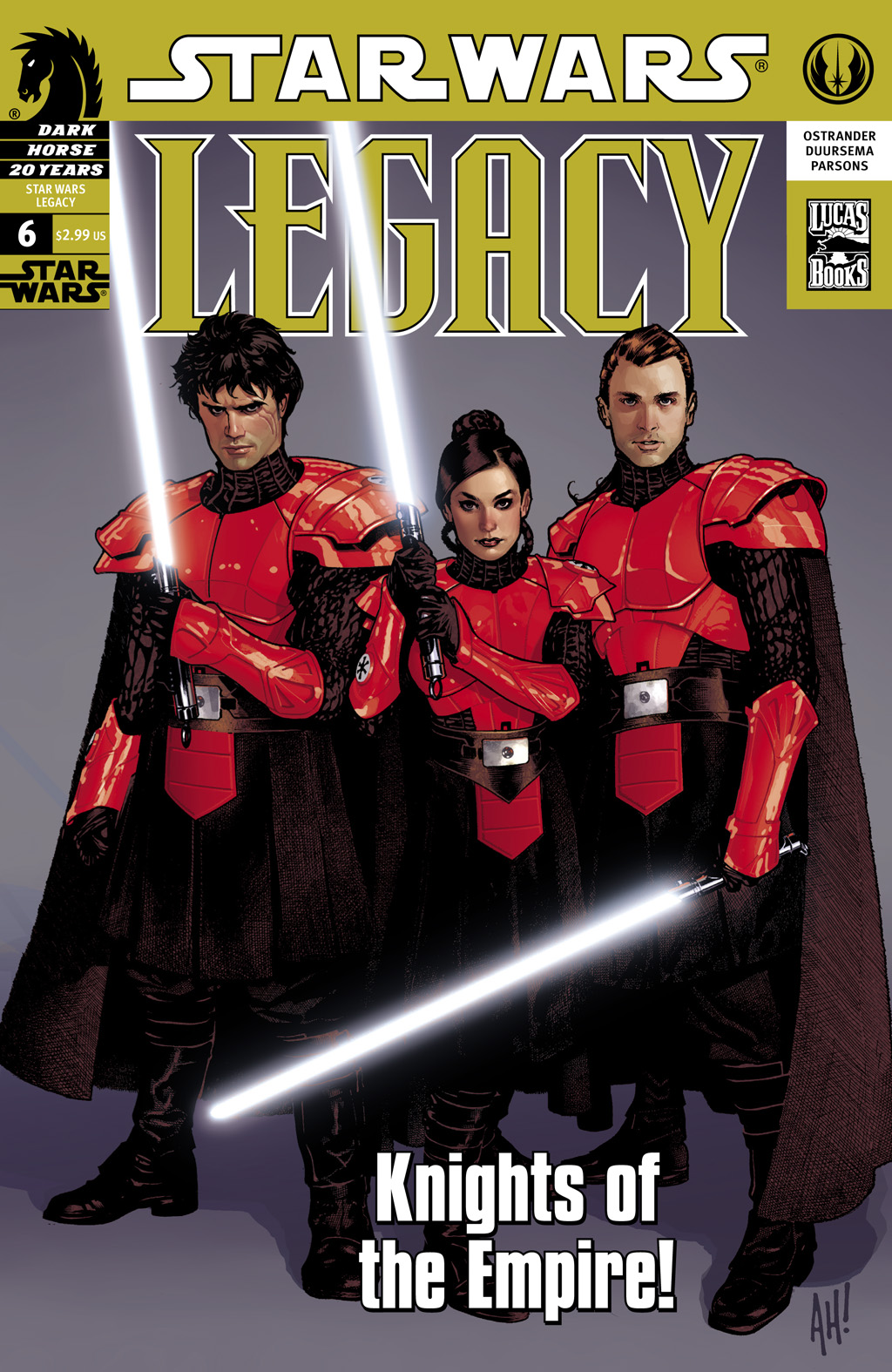 Star Wars: Legacy (2006) issue 6 - Page 1