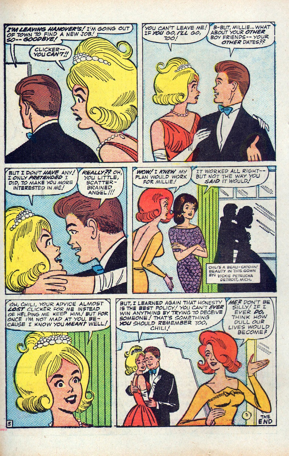 Read online Millie the Model comic -  Issue # Annual 2 - 72