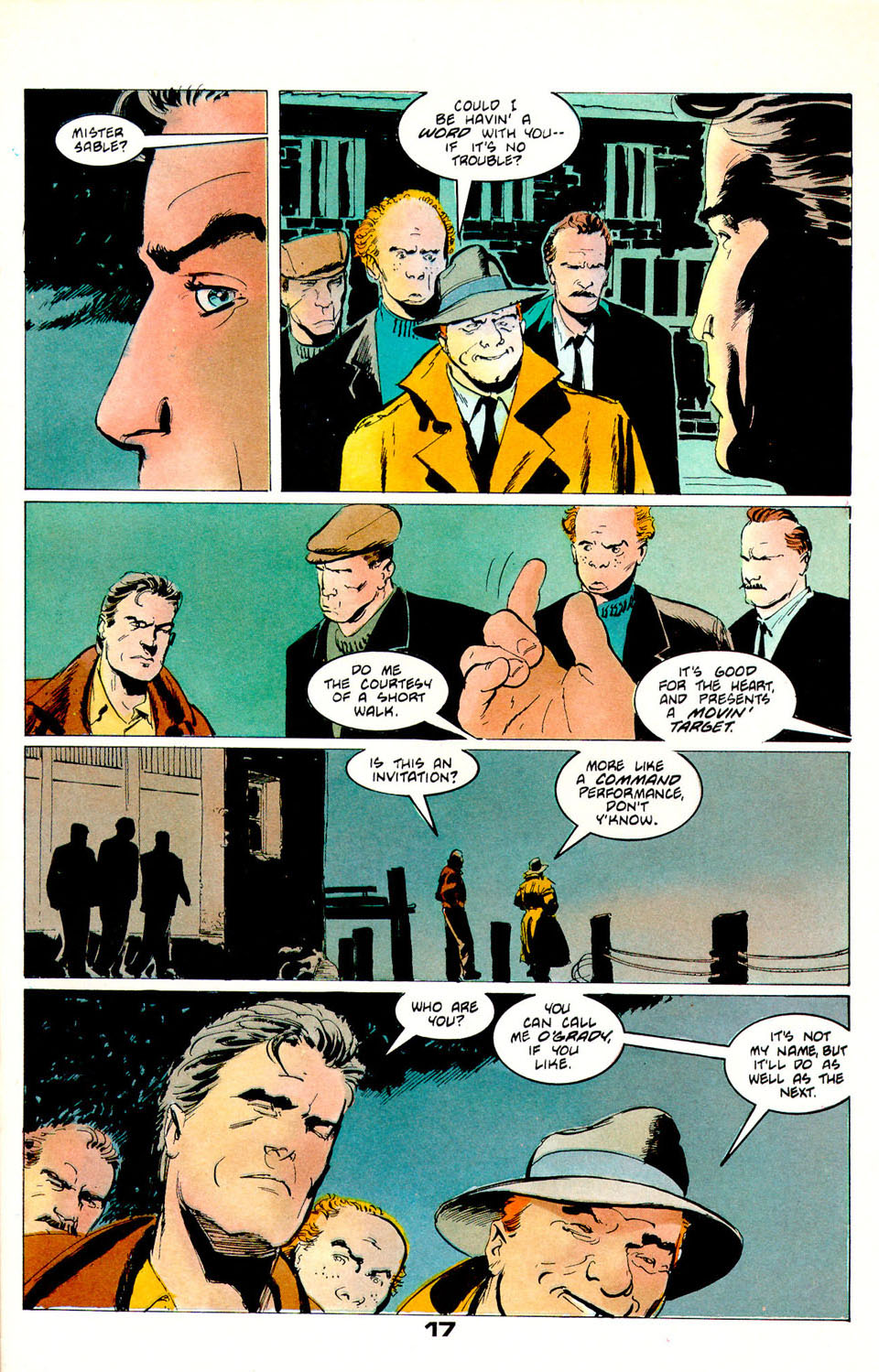 Jon Sable, Freelance issue 55 - Page 17