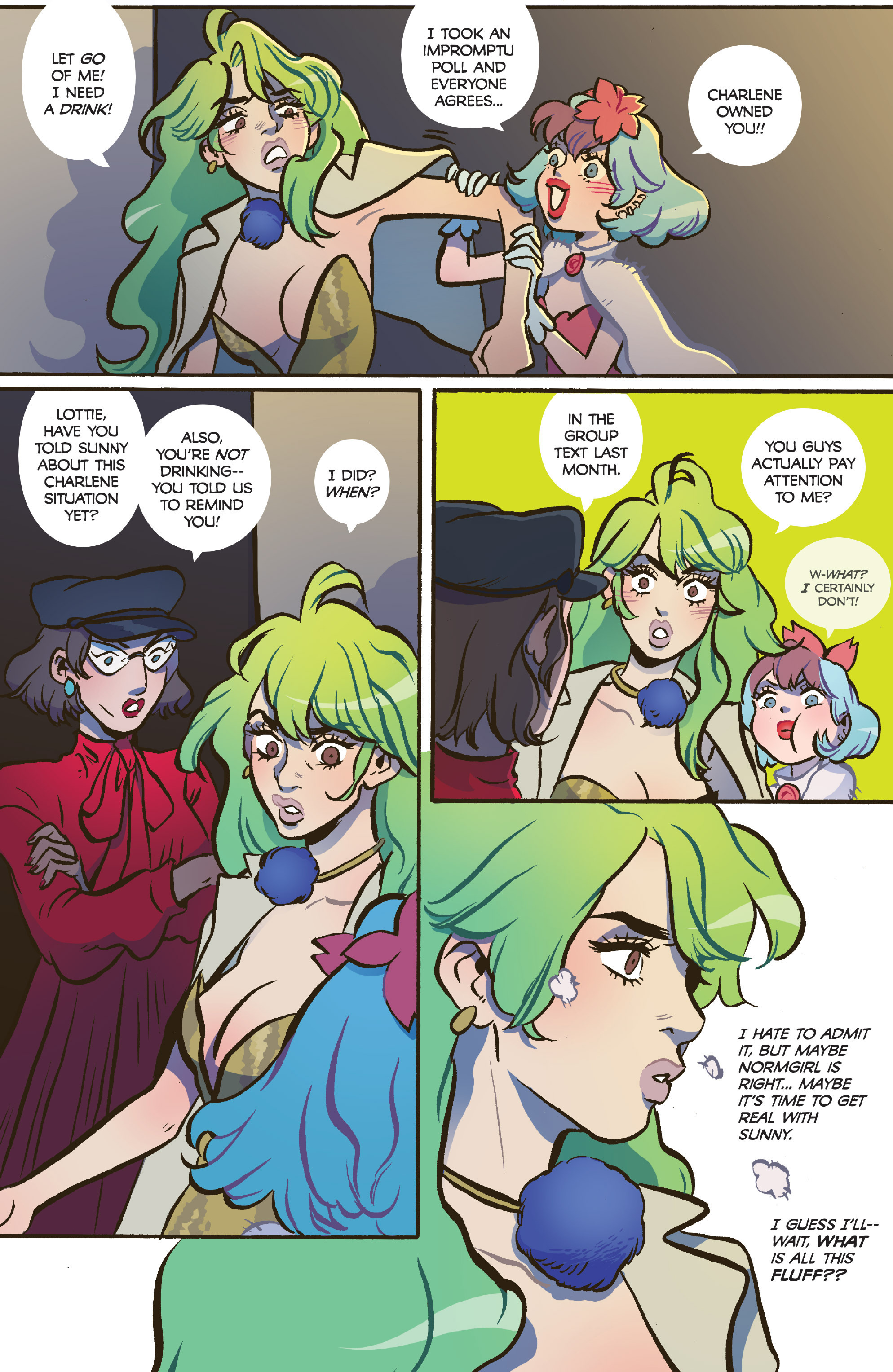 Read online Snotgirl comic -  Issue #5 - 10