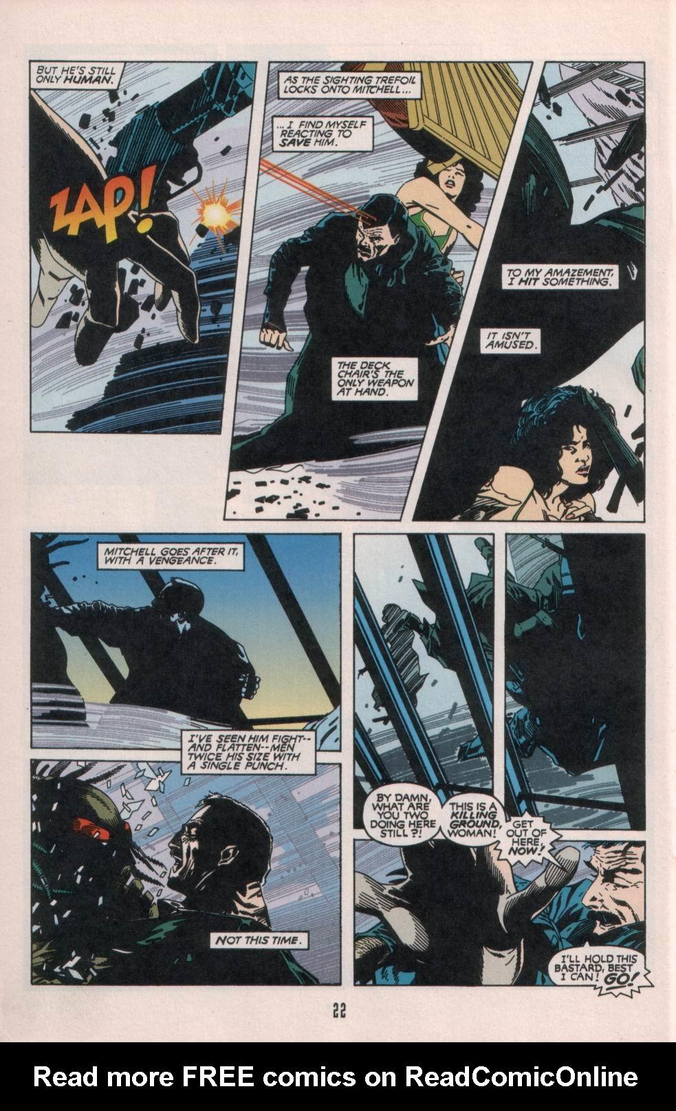 Read online Aliens/Predator: The Deadliest of the Species comic -  Issue #1 - 23