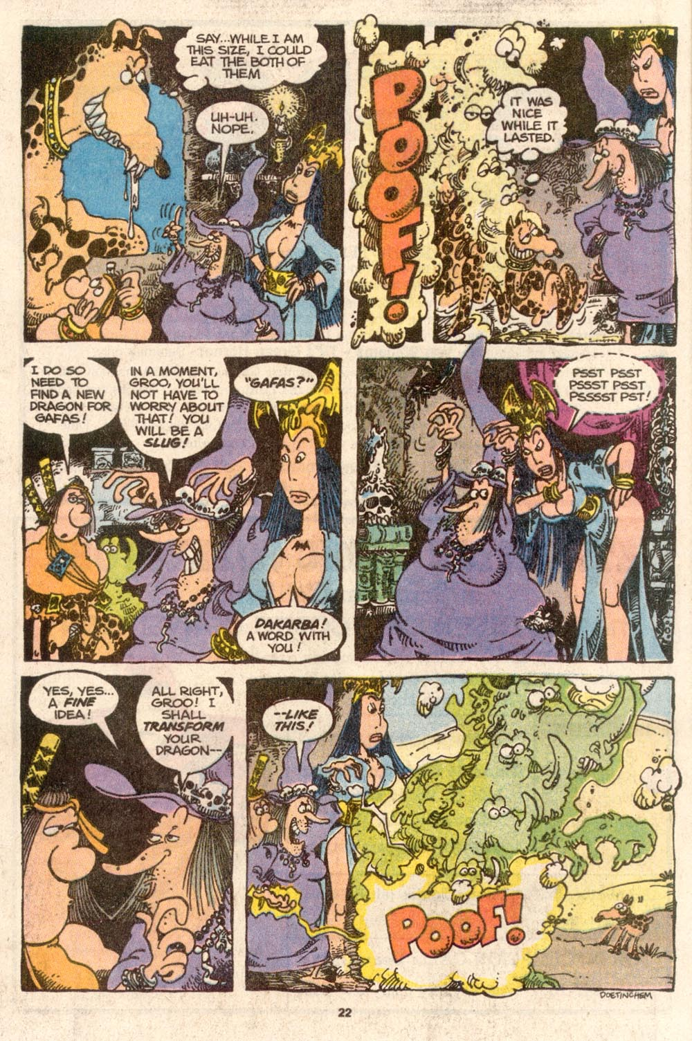 Read online Sergio Aragonés Groo the Wanderer comic -  Issue #67 - 17