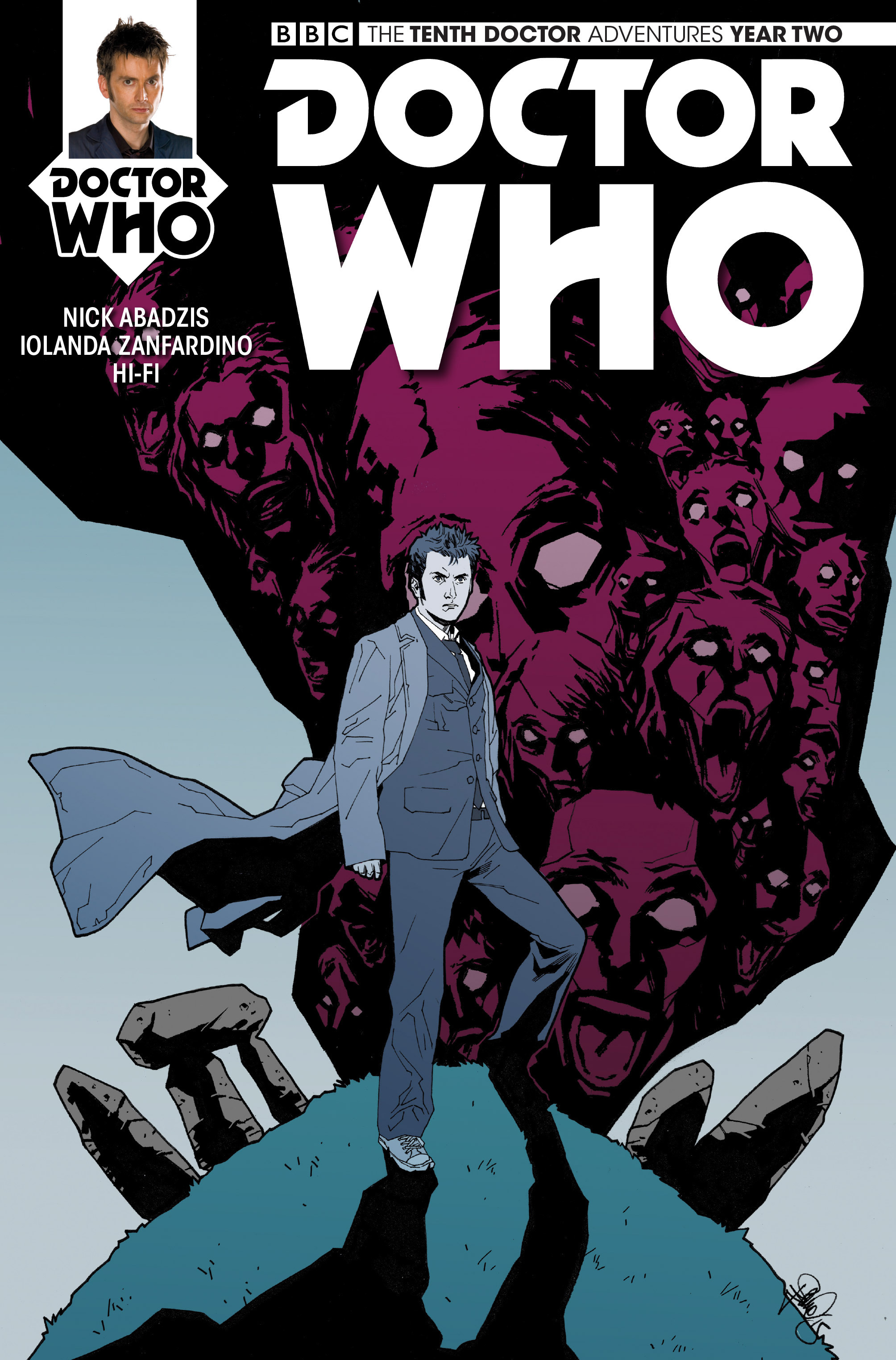 Doctor Who: The Tenth Doctor Year Two 9 Page 1