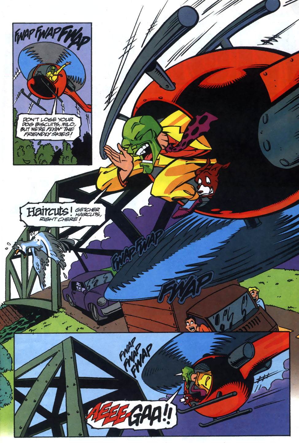 Read online Adventures Of The Mask comic -  Issue #5 - 8