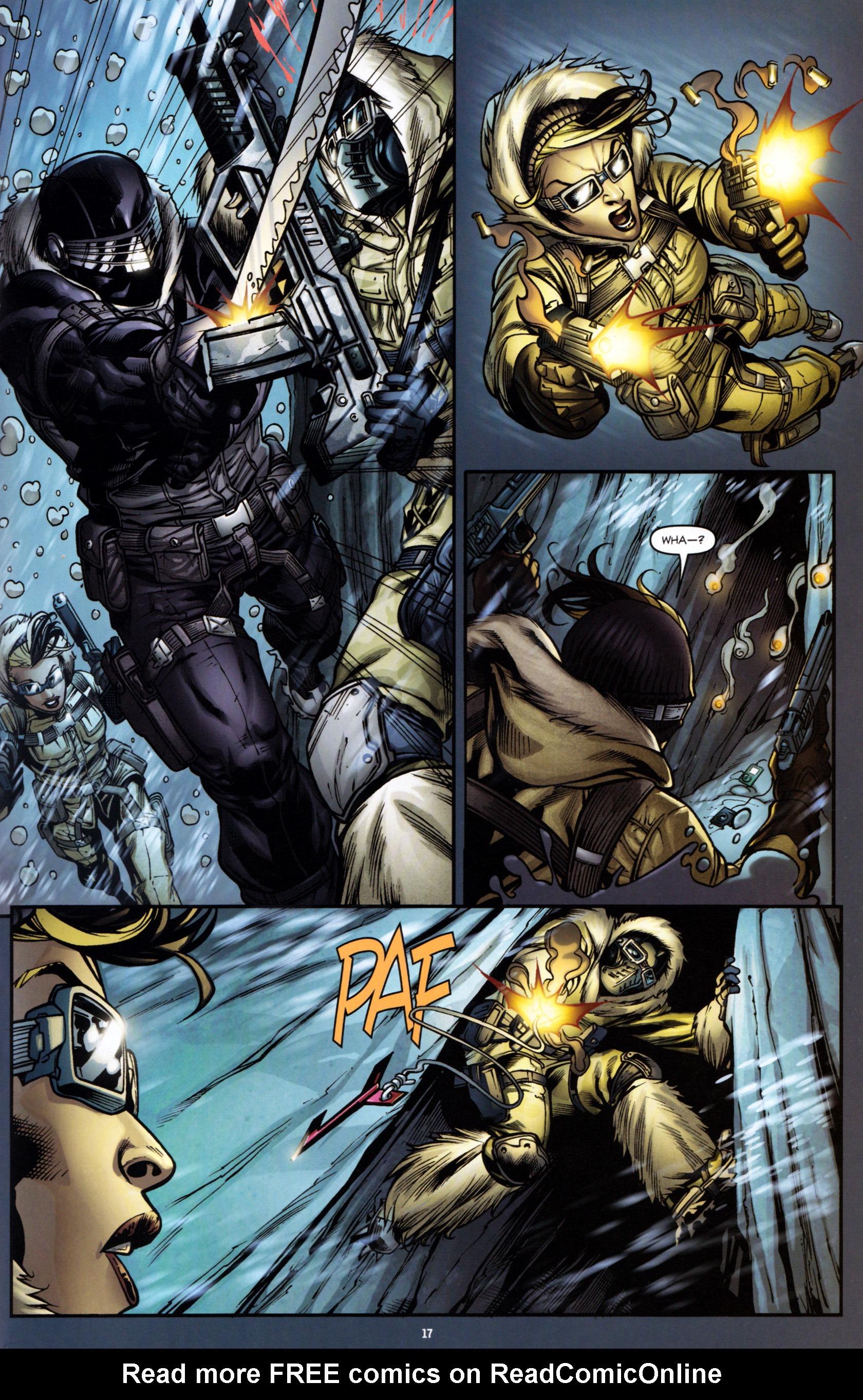 Read online G.I. Joe: Snake Eyes comic -  Issue #1 - 22