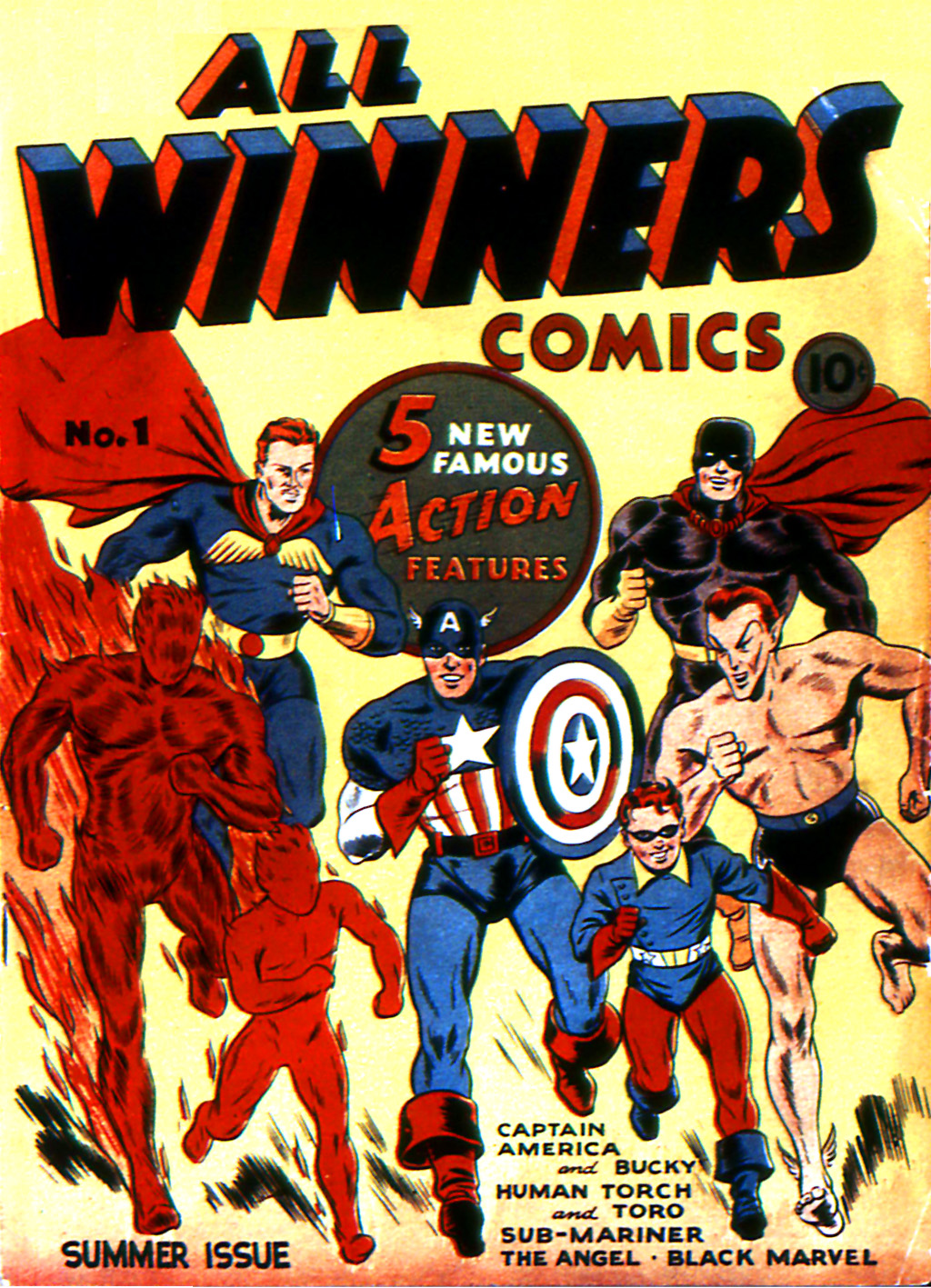 Read online All-Winners Comics comic -  Issue #1 - 1