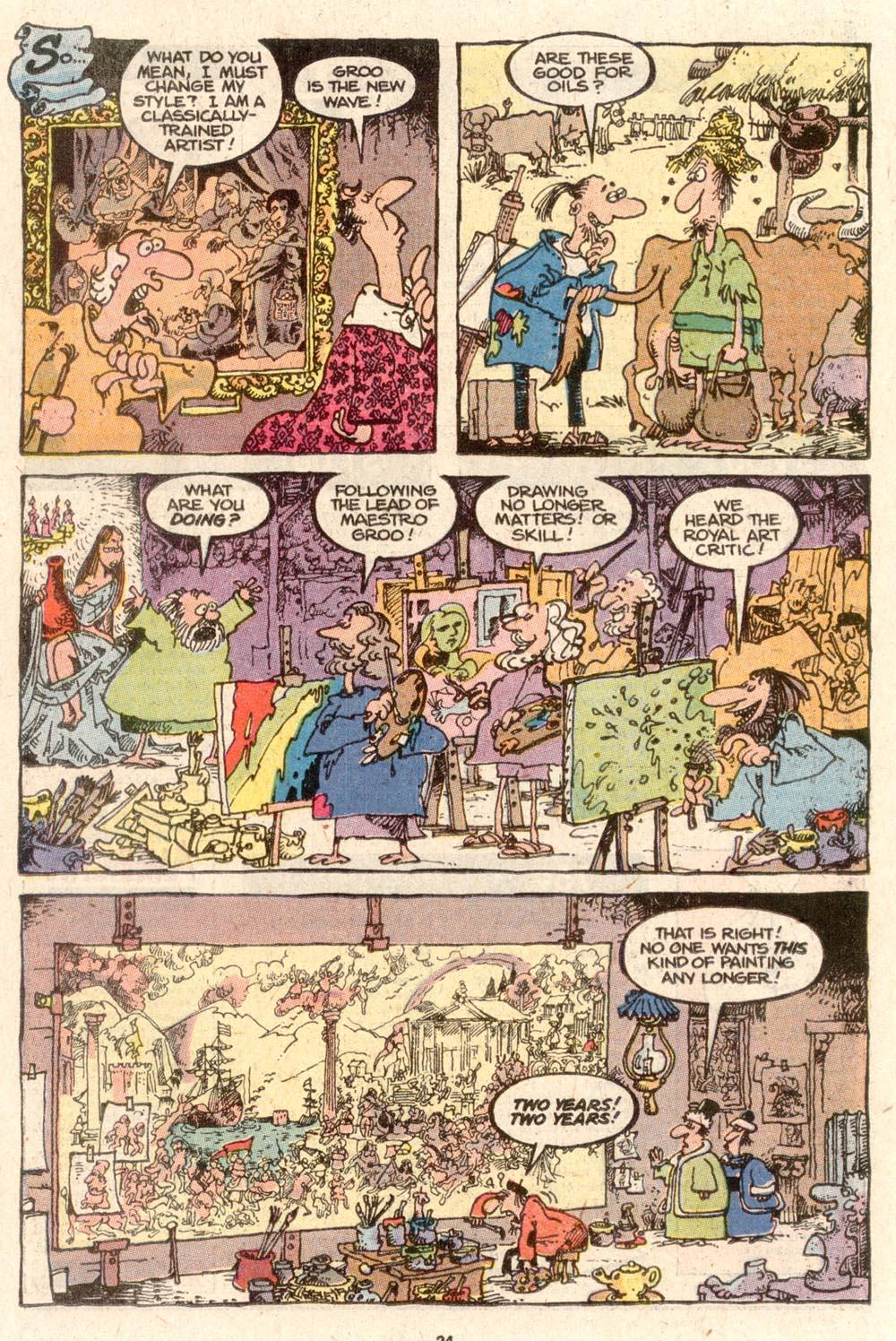 Read online Sergio Aragonés Groo the Wanderer comic -  Issue #64 - 18