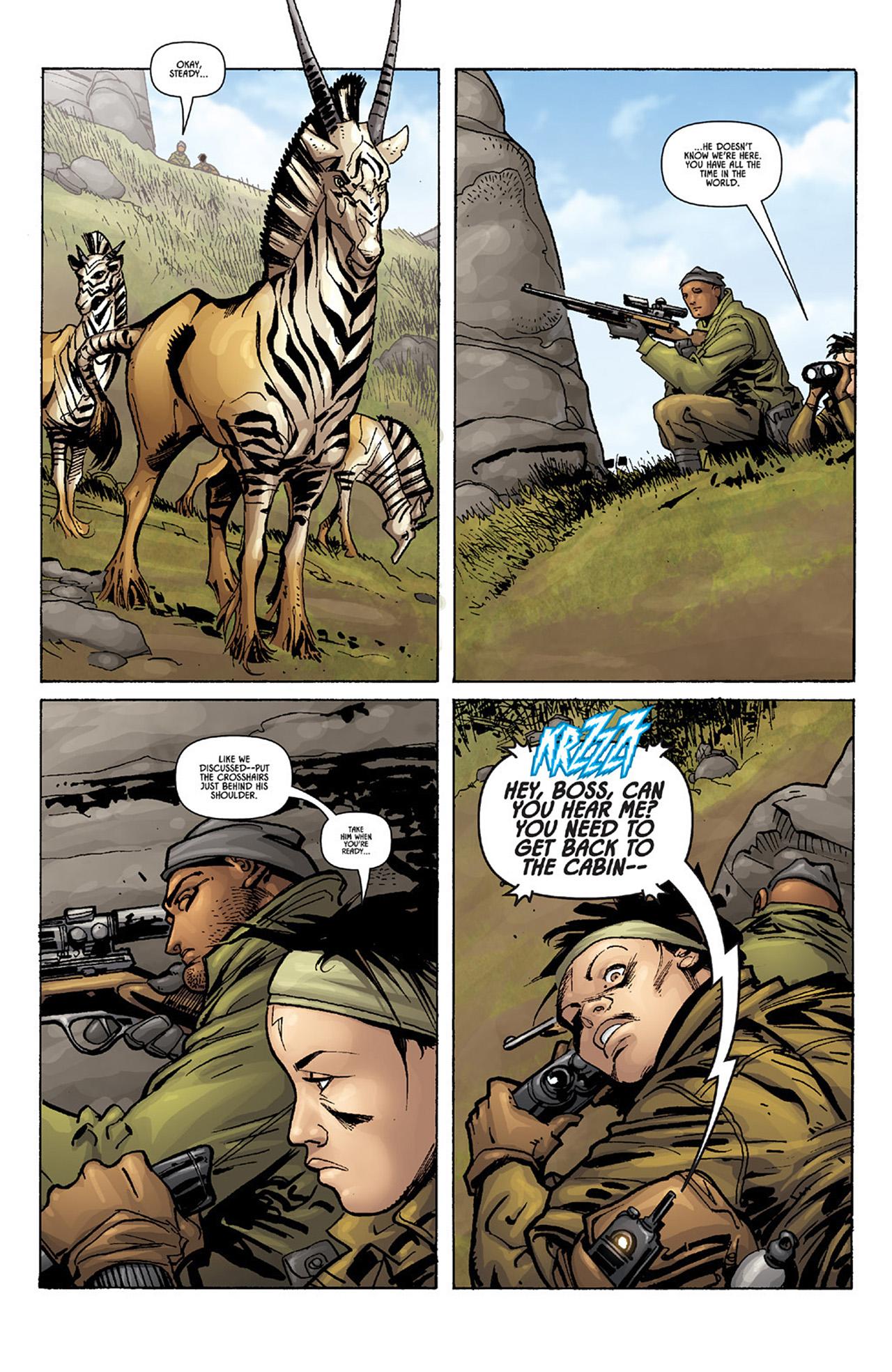 Read online Aliens vs. Predator: Three World War comic -  Issue #1 - 14