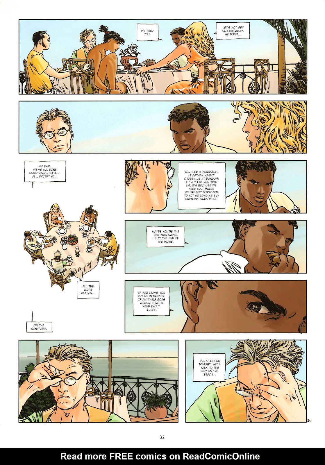 Read online Cutting Edge (2013) comic -  Issue #1 - 30