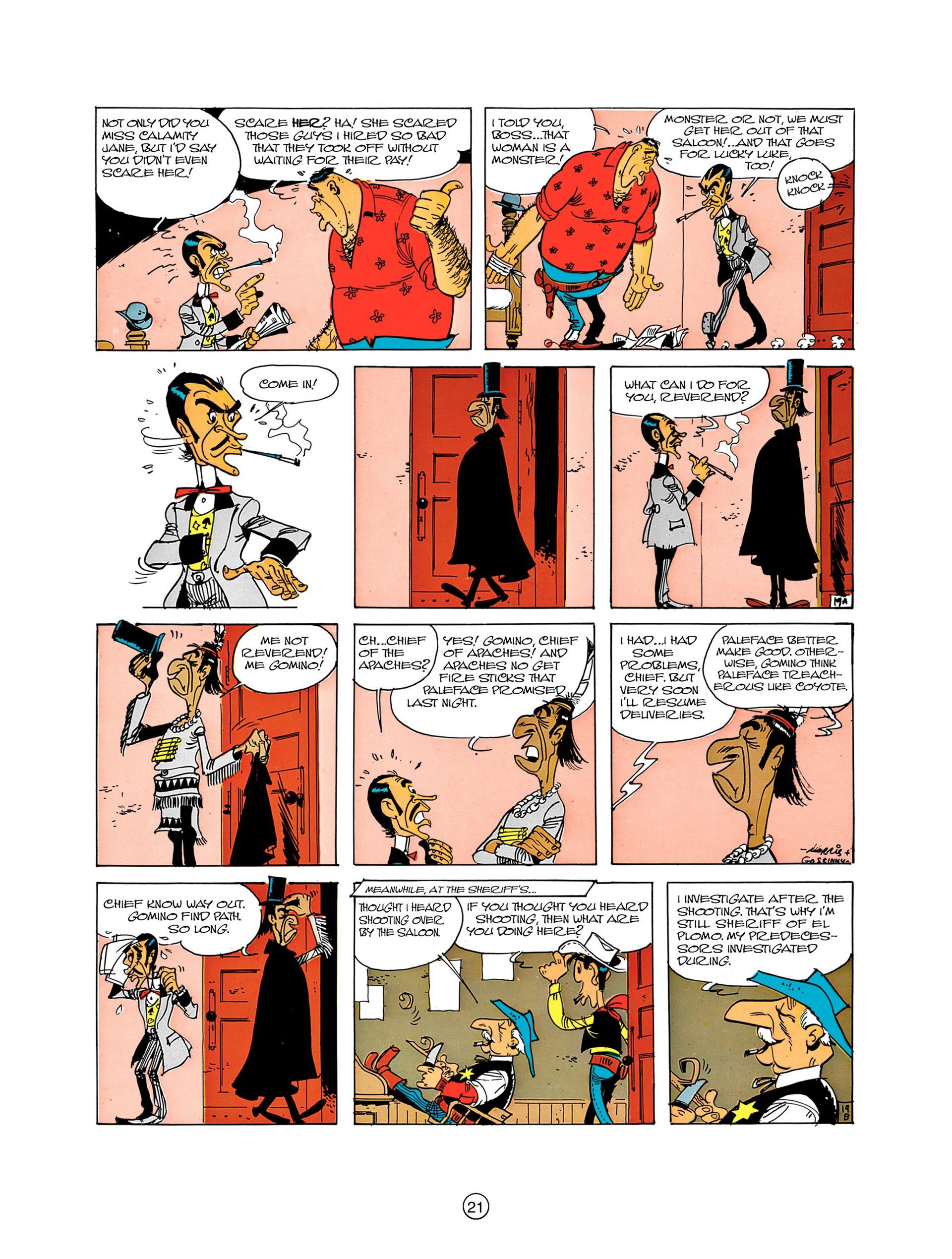 Read online A Lucky Luke Adventure comic -  Issue #8 - 21
