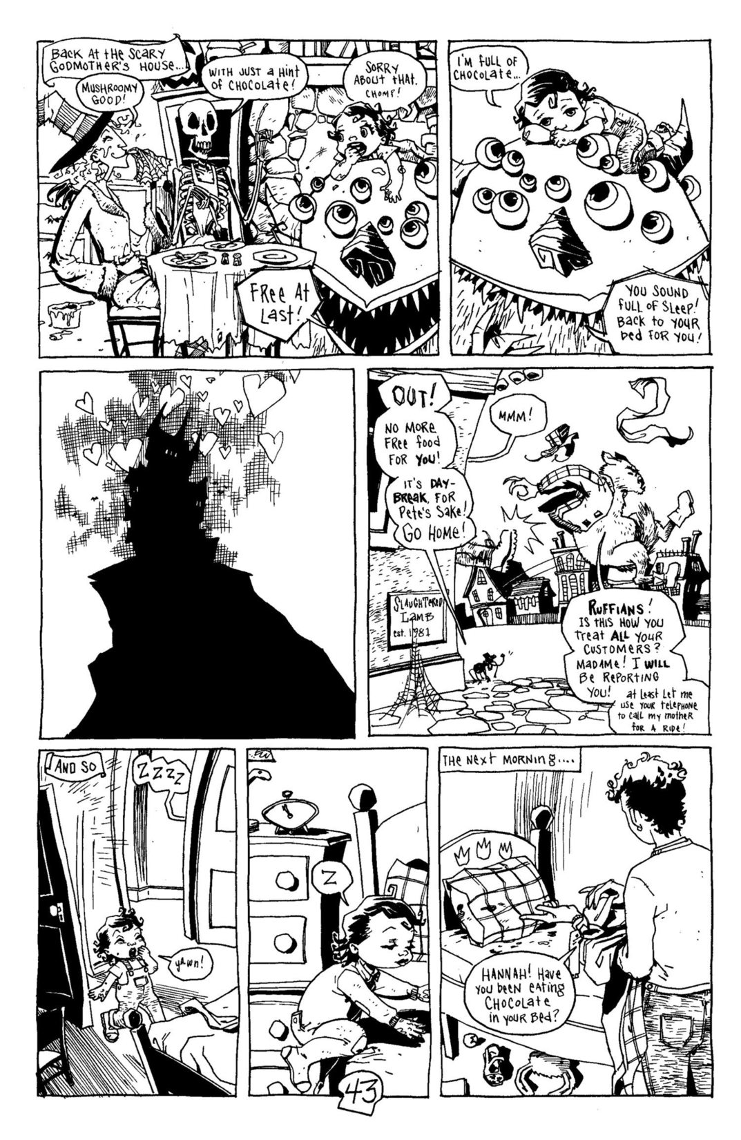 Read online Scary Godmother Comic Book Stories comic -  Issue # TPB - 44