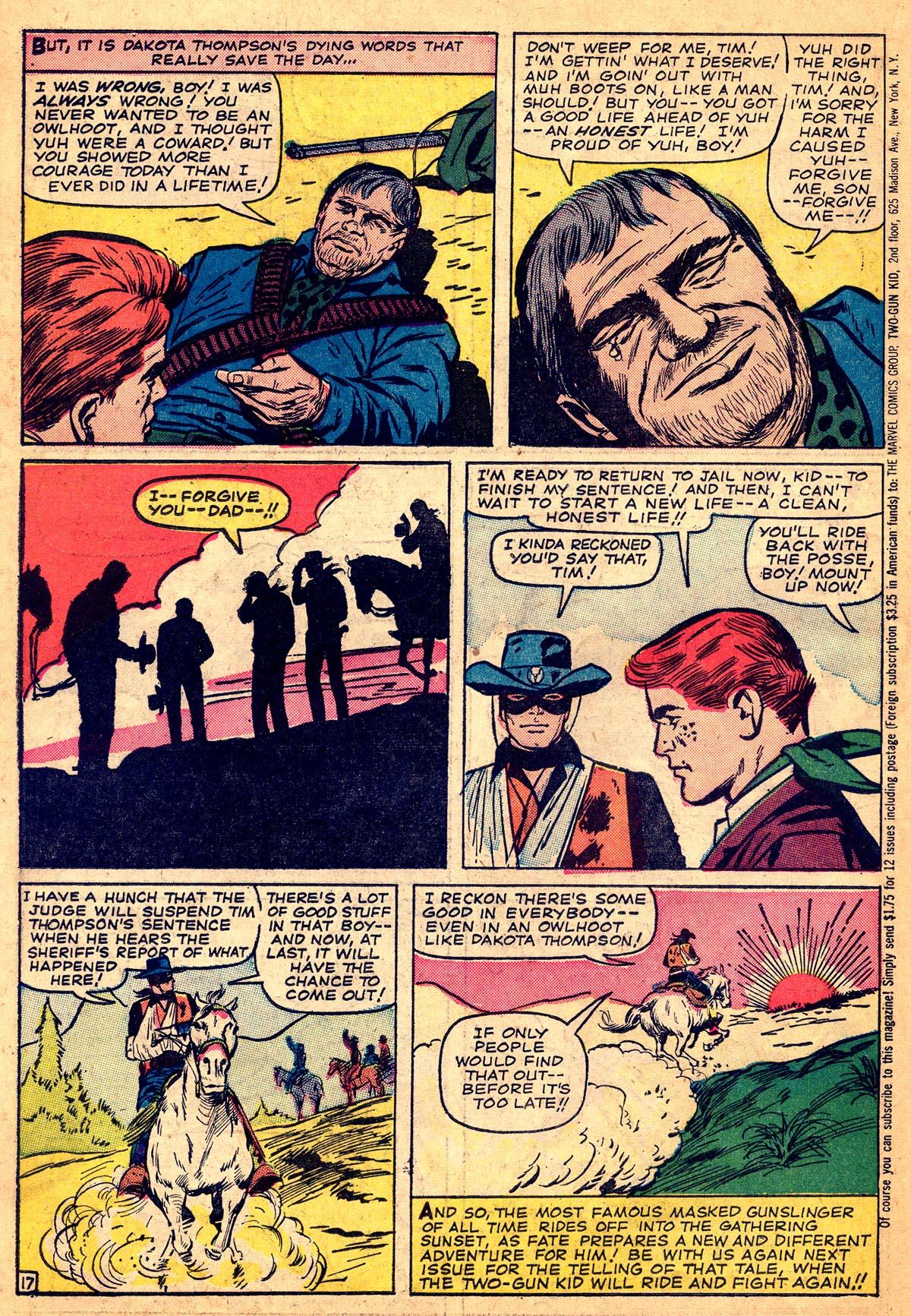 Read online Two-Gun Kid comic -  Issue #74 - 22