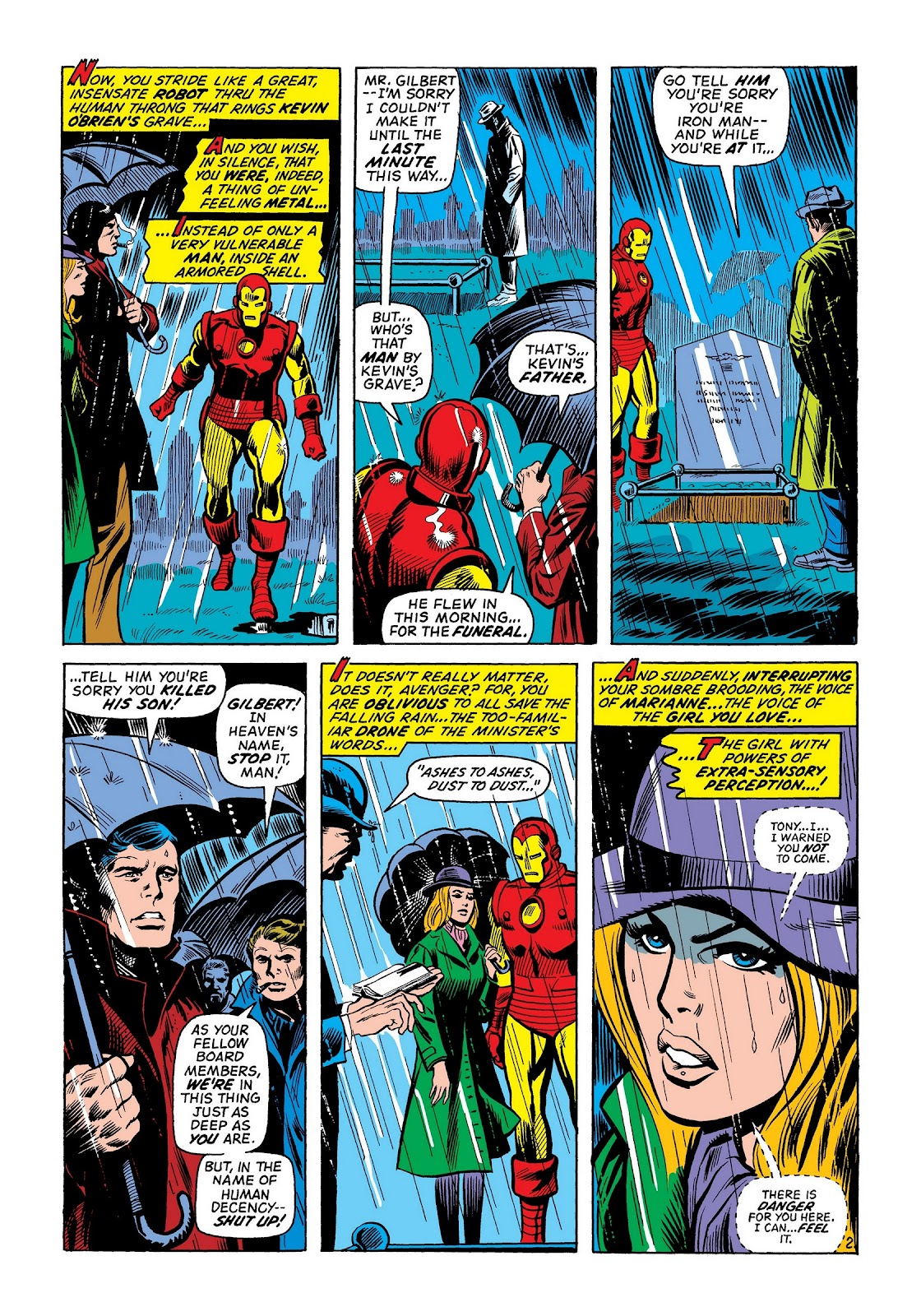 Read online Marvel Masterworks: The Invincible Iron Man comic -  Issue # TPB 8 (Part 2) - 68
