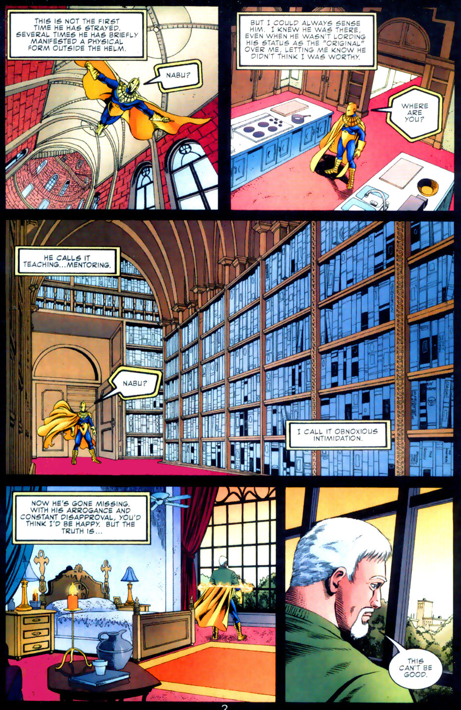 Read online Doctor Fate (2003) comic -  Issue #2 - 3