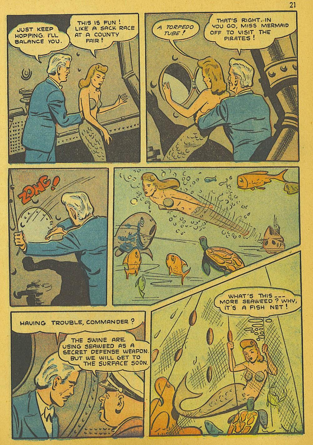 Read online Super-Magician Comics comic -  Issue #10 - 21