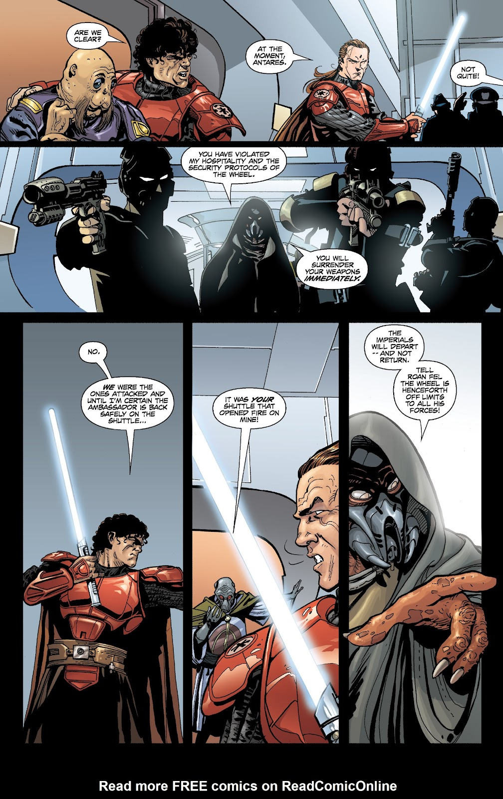 Read online Star Wars Legends: Legacy - Epic Collection comic -  Issue # TPB 1 (Part 3) - 35