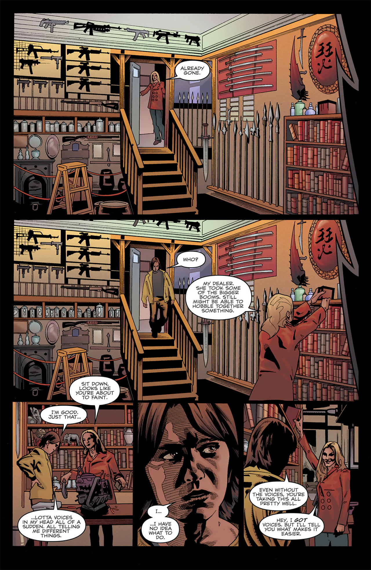 Read online Angel: After The Fall comic -  Issue #7 - 21