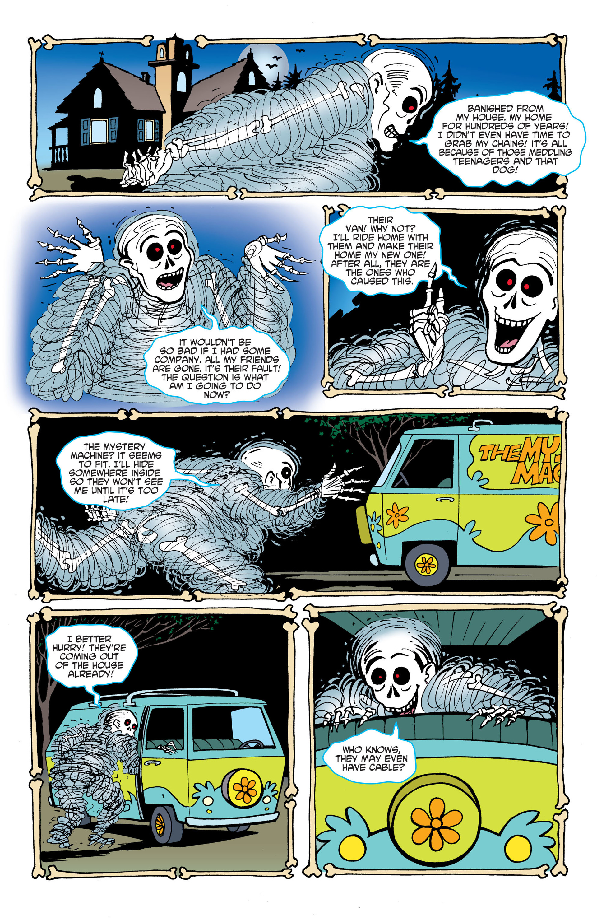 Read online Scooby-Doo: Where Are You? comic -  Issue #45 - 13