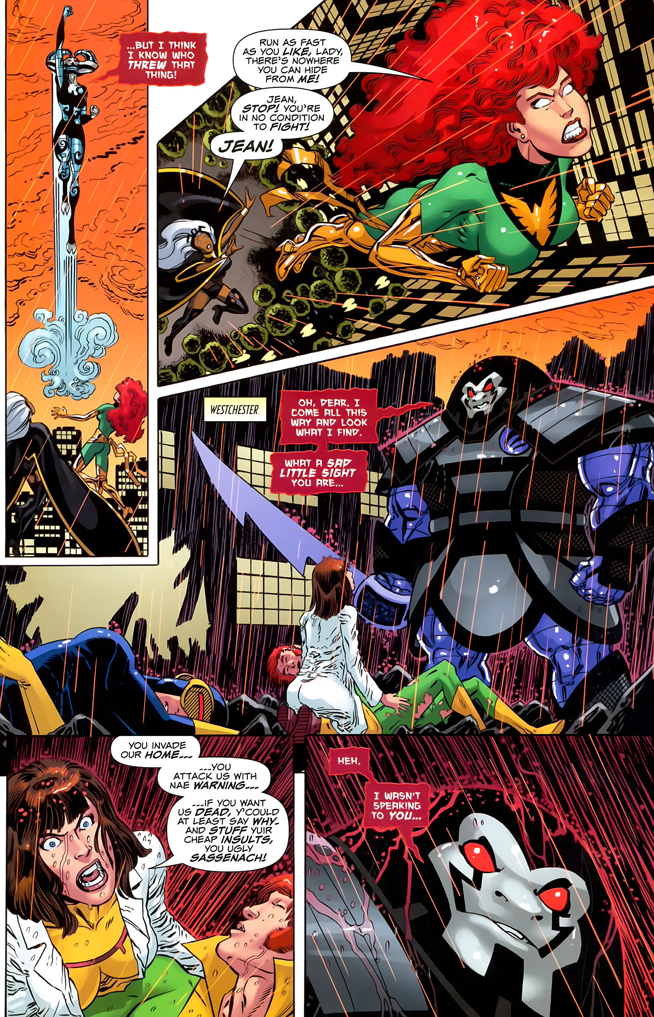 Read online Uncanny X-Men: First Class comic -  Issue #6 - 5