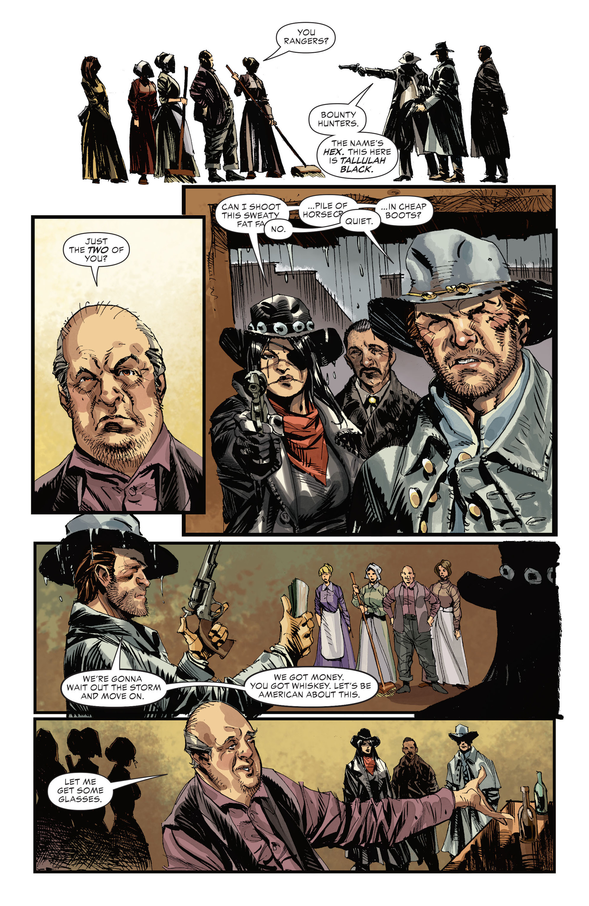 Read online All-Star Western (2011) comic -  Issue #32 - 6
