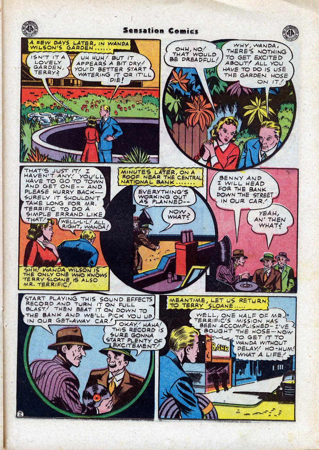 Read online Sensation (Mystery) Comics comic -  Issue #44 - 29